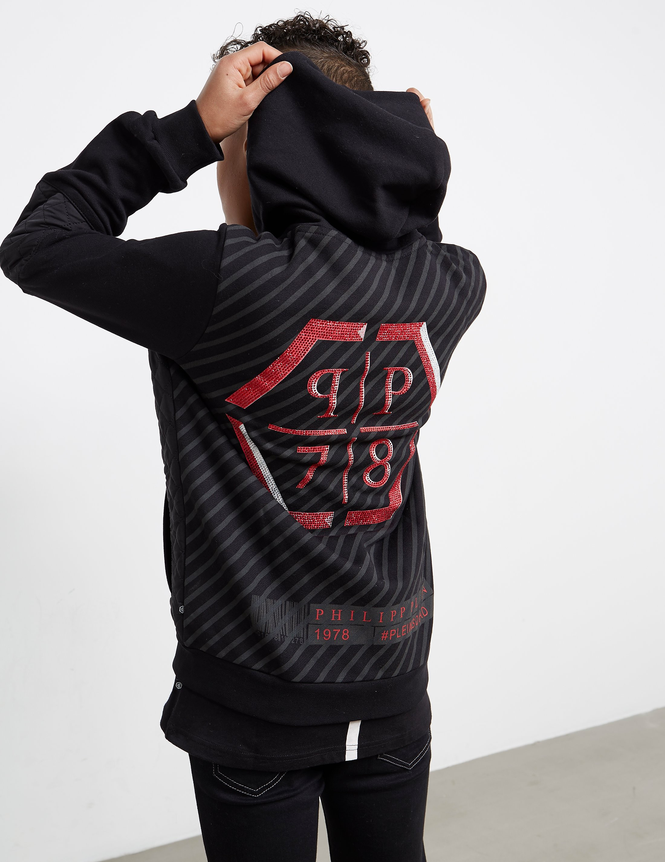 Philipp Plein Sport Hex Gem Full Zip Hoody