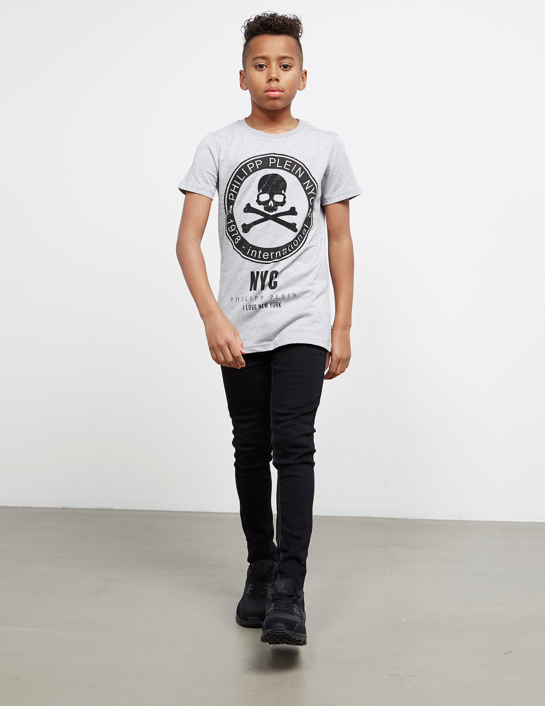 Philipp Plein Sport Skull Gem Short Sleeve T-Shirt