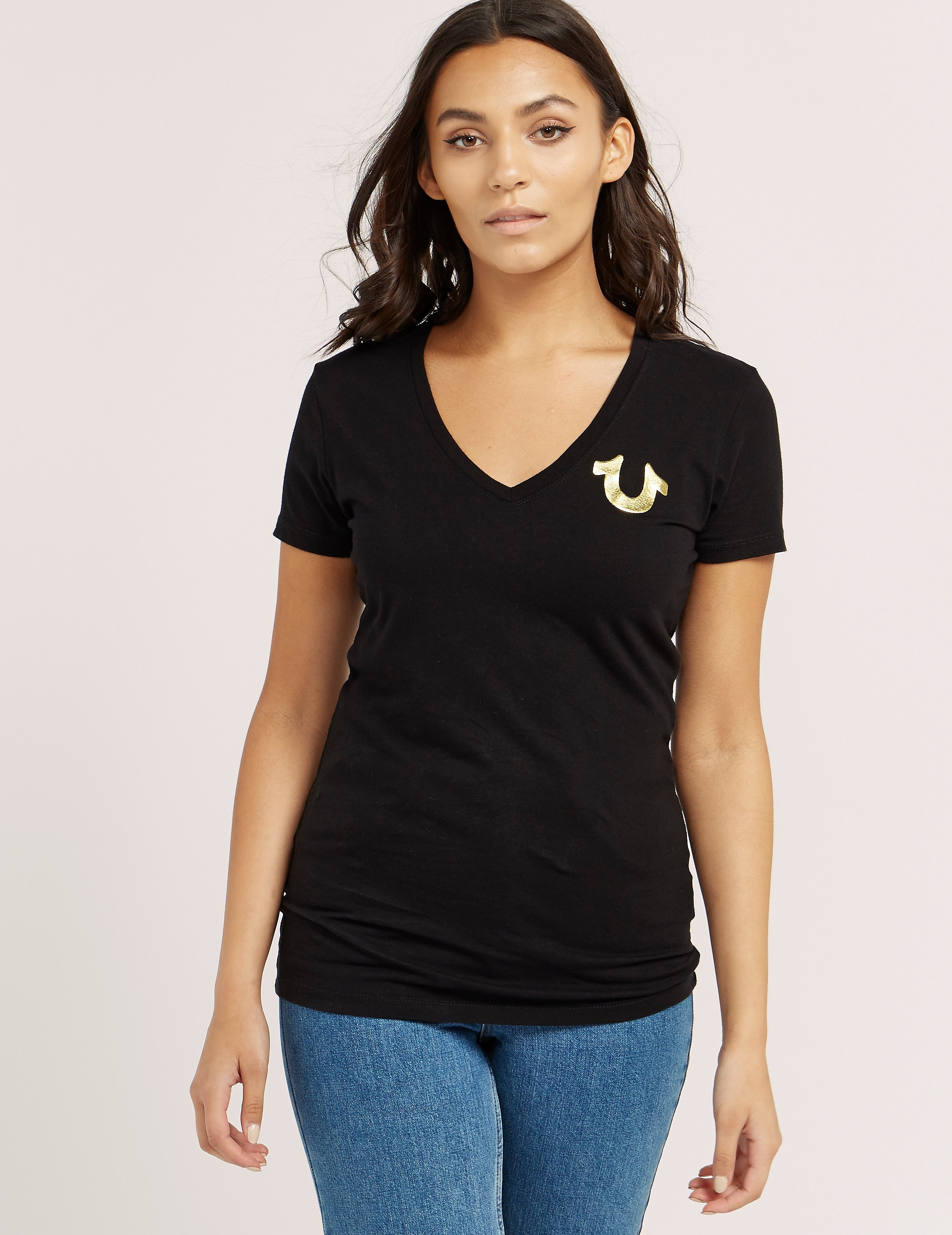 True Religion Buddha Short Sleeve T-Shirt