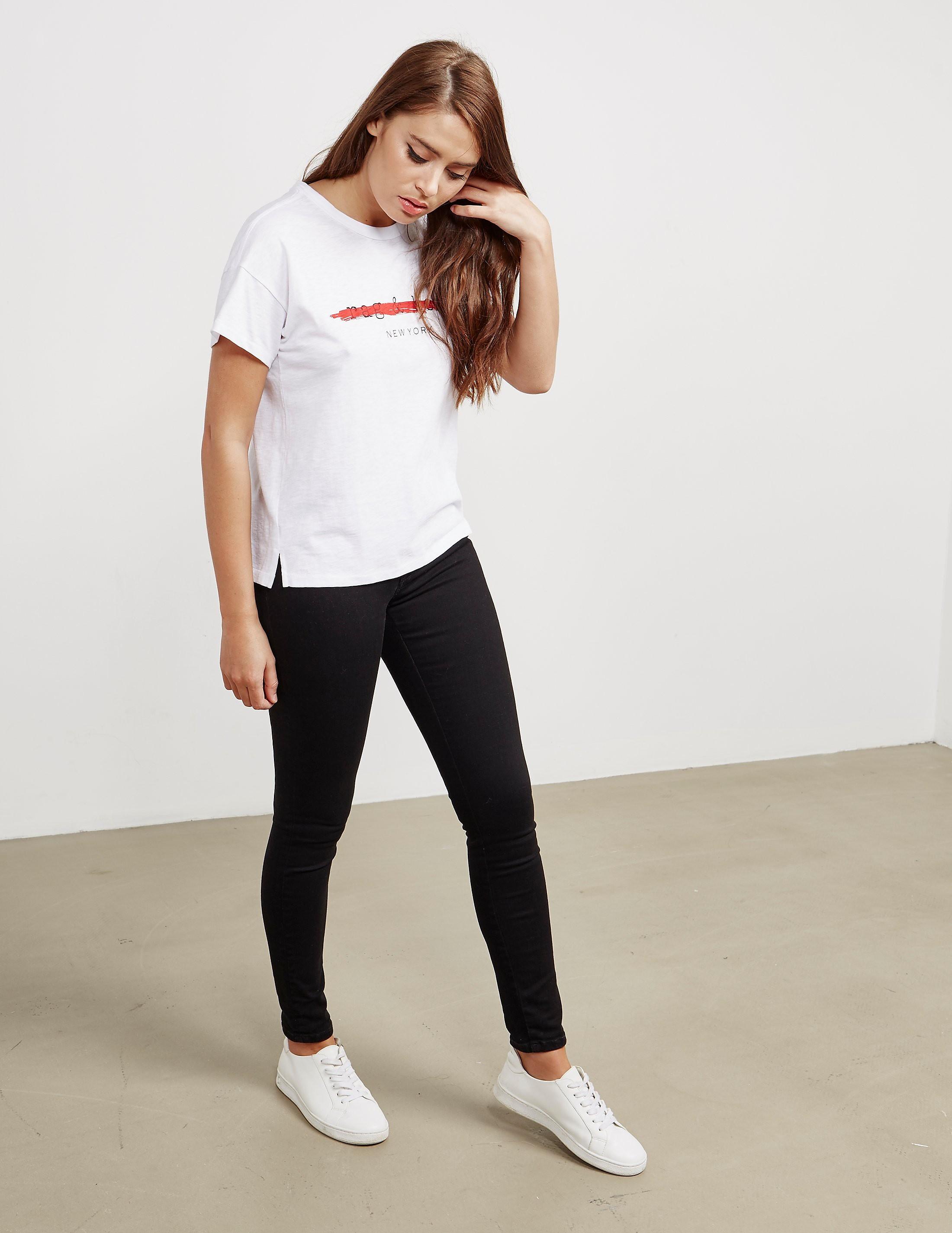 Rag & Bone Logo Short Sleeve T-Shirt