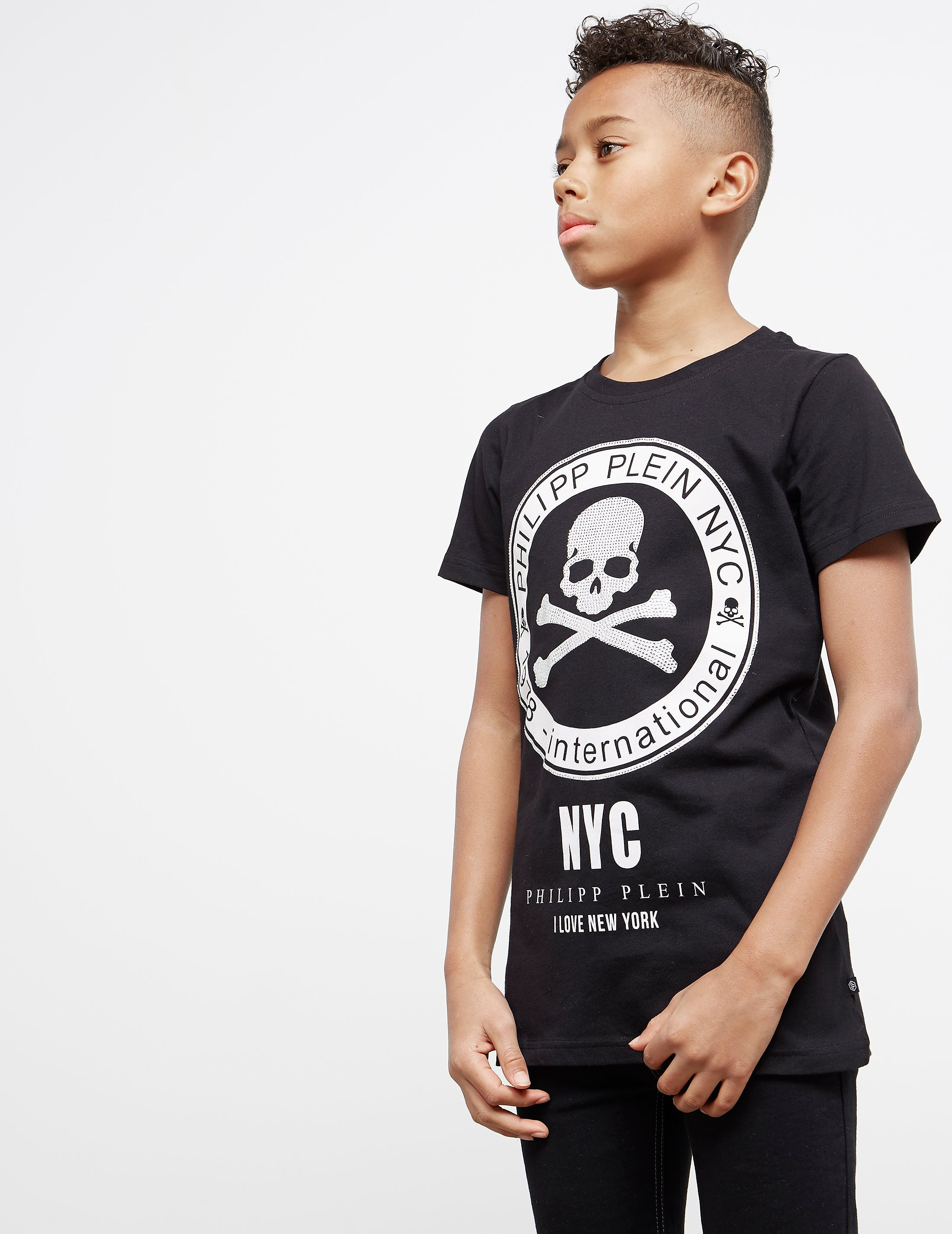 Philipp Plein Sport Skull Gem Short Sleeve T-Shirt