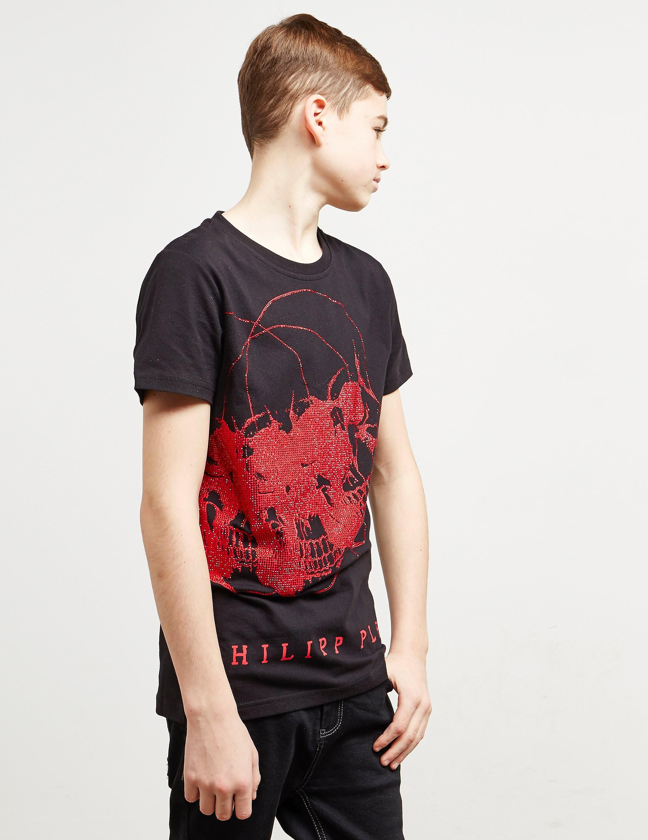 Philipp Plein Sport 3 Skull Gem Short Sleeve T-Shirt