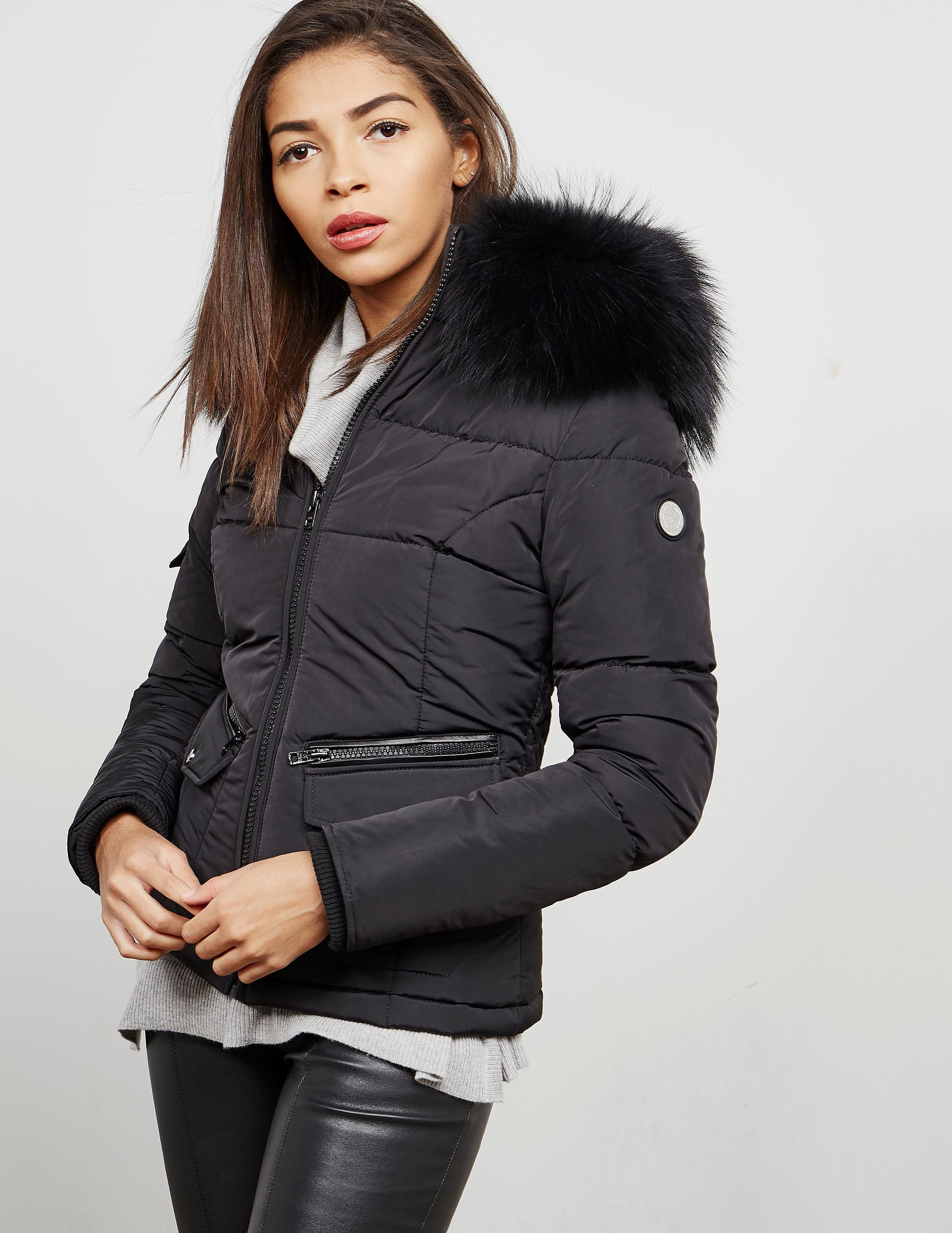 Froccella Big Fur Padded Jacket