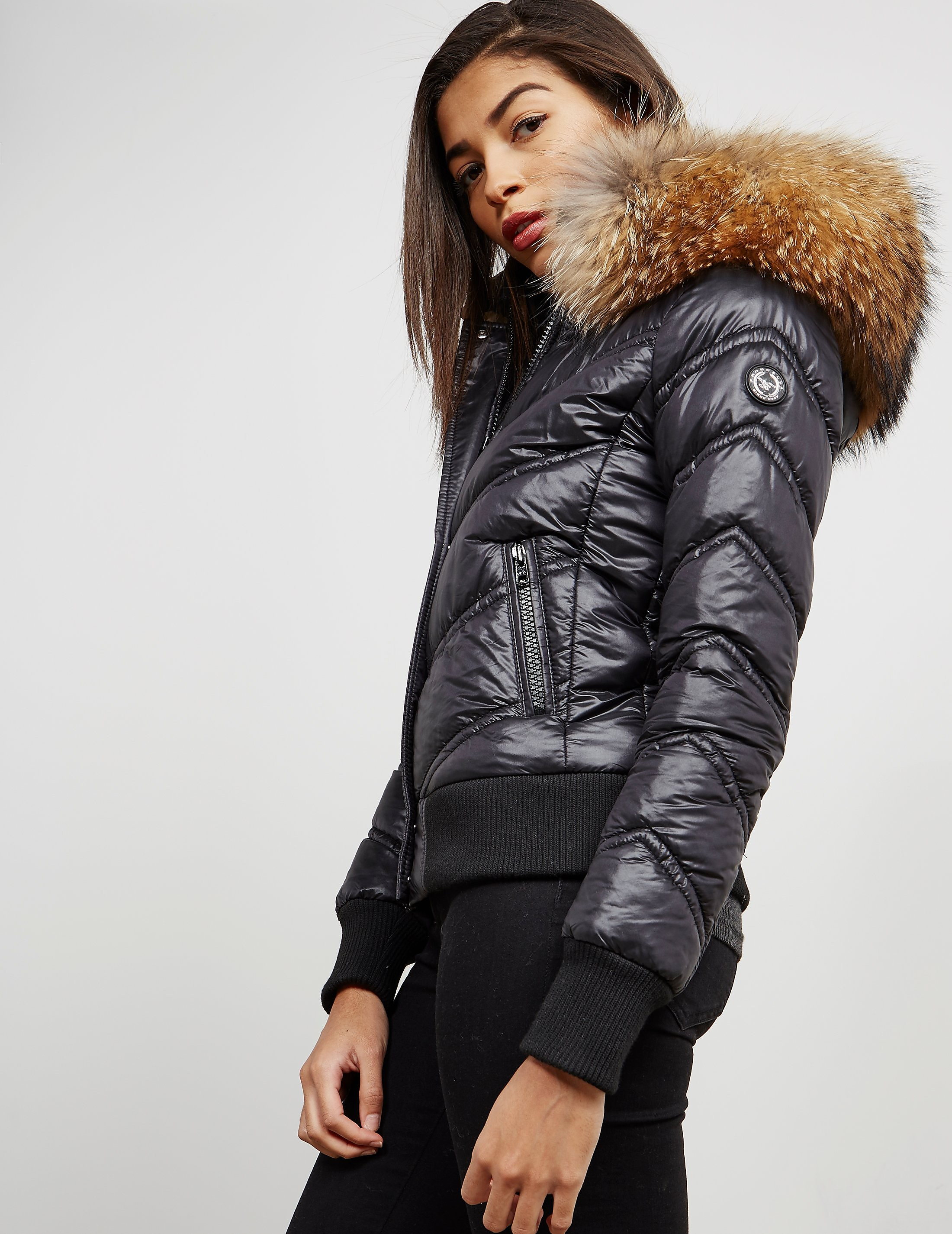 Froccella Padded Bomber Jacket