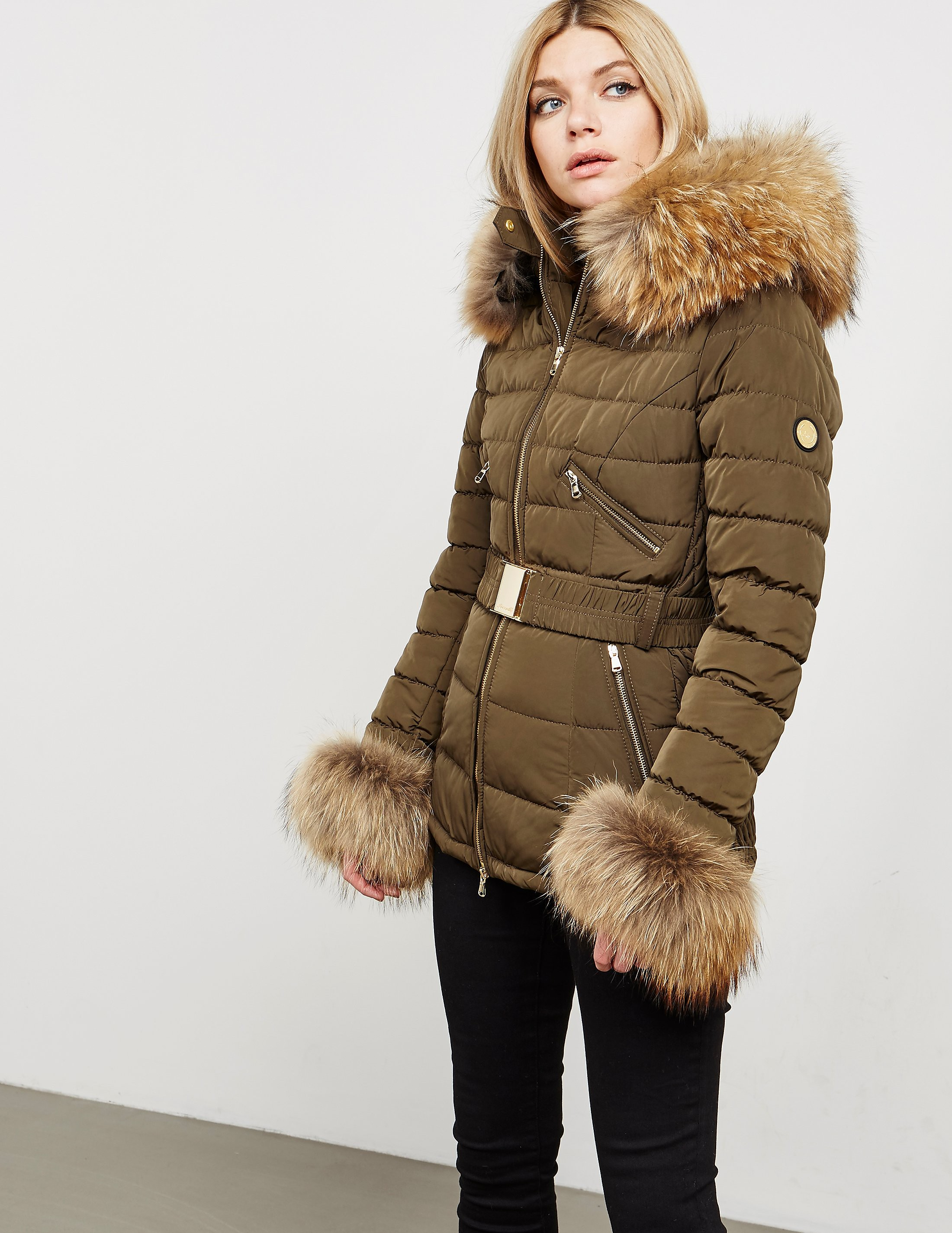 Froccella Padded Fur Jacket