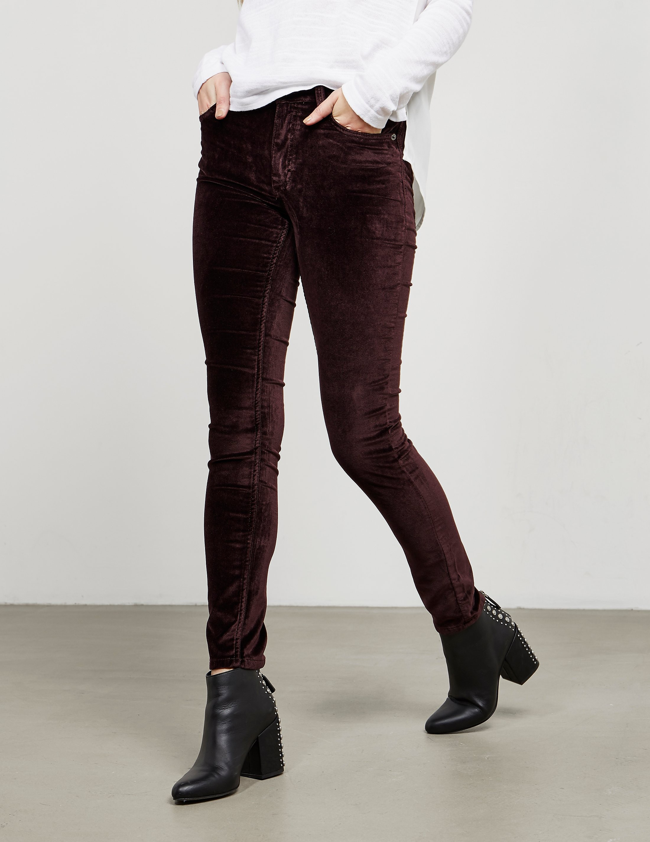 French Connection Velvet Trousers