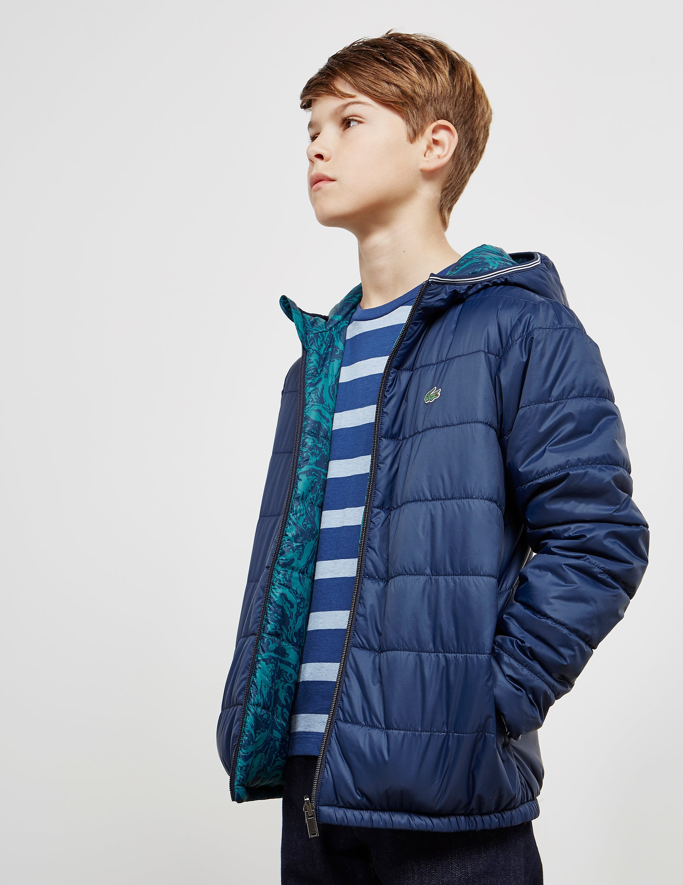Lacoste Ripstop Padded Bubble Jacket