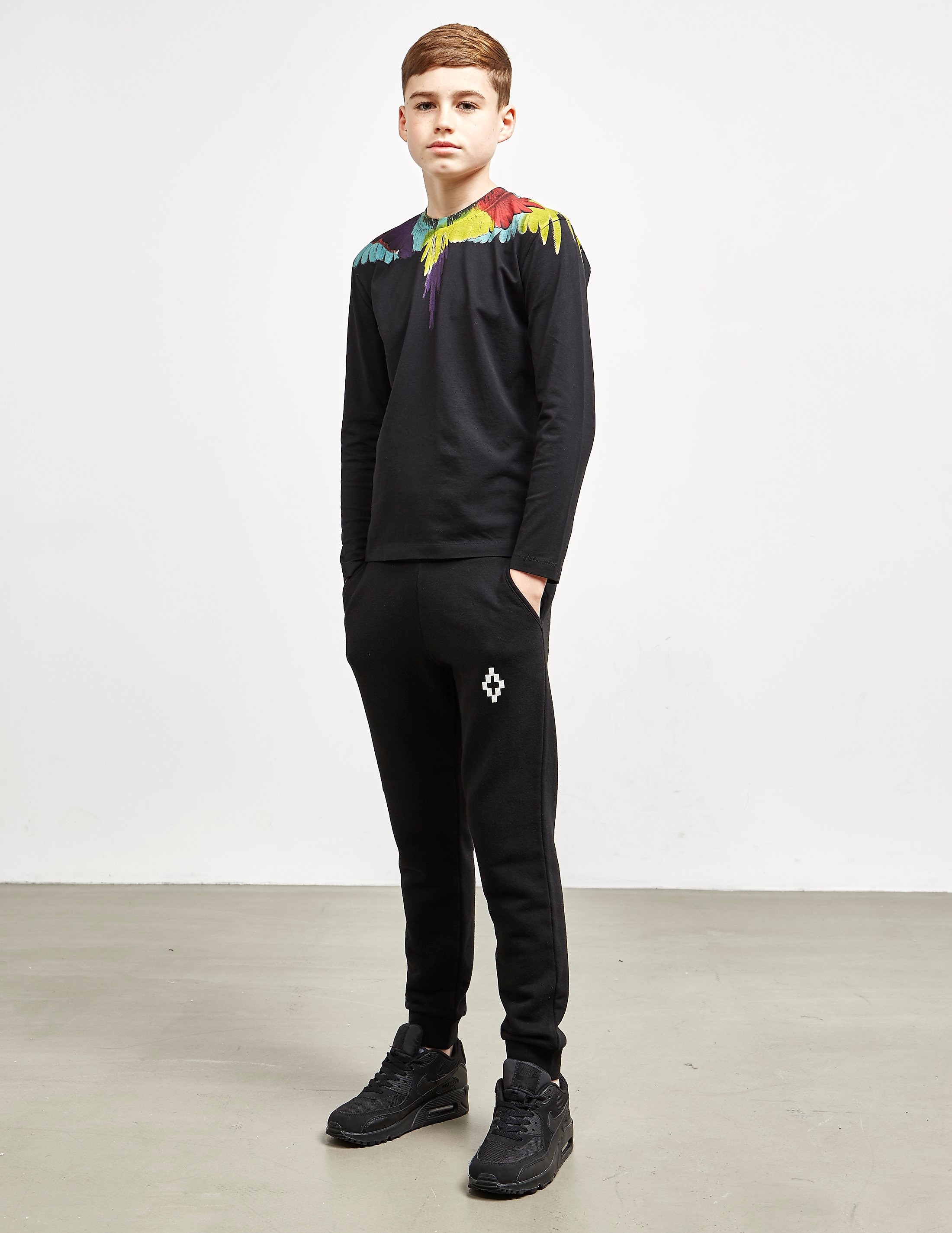 Marcelo Burlon Staff Cuffed Track Pants