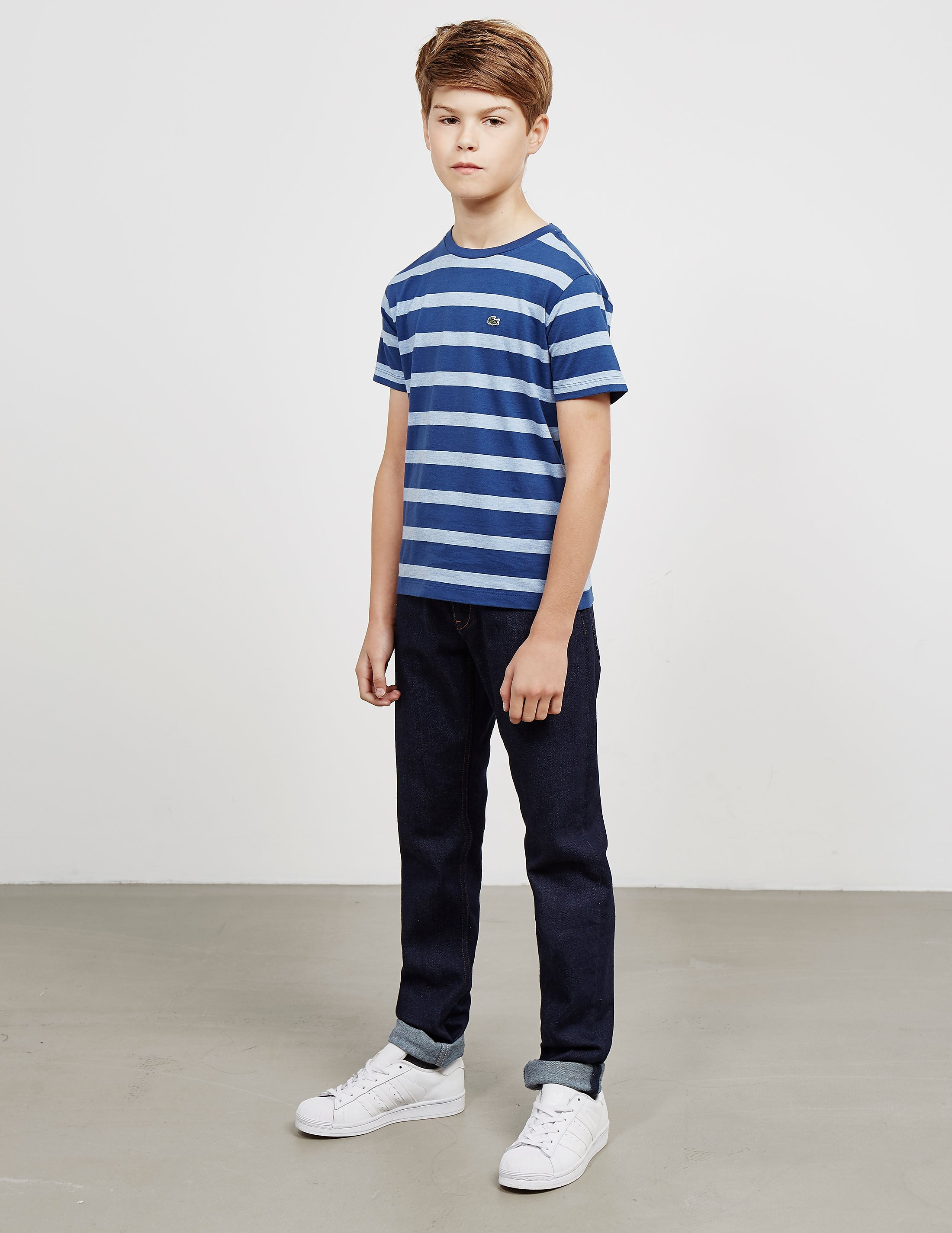 Lacoste Striped Short Sleeve T-Shirt