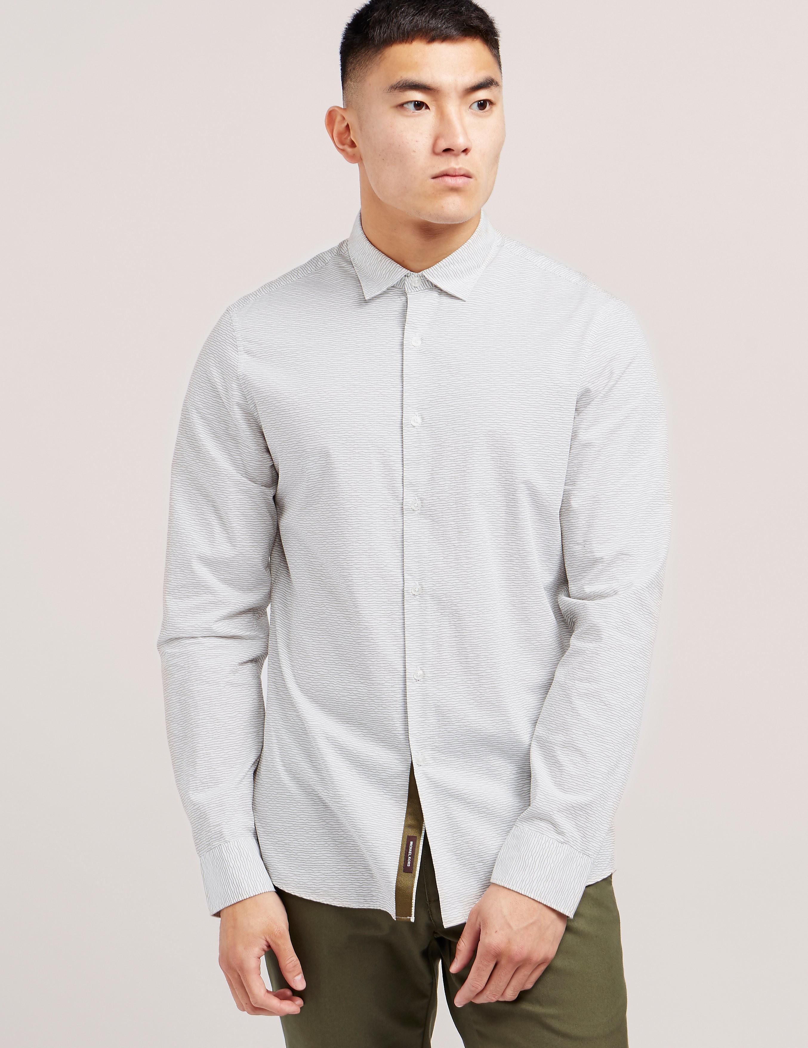 Michael Kors Wave Long Sleeve Shirt