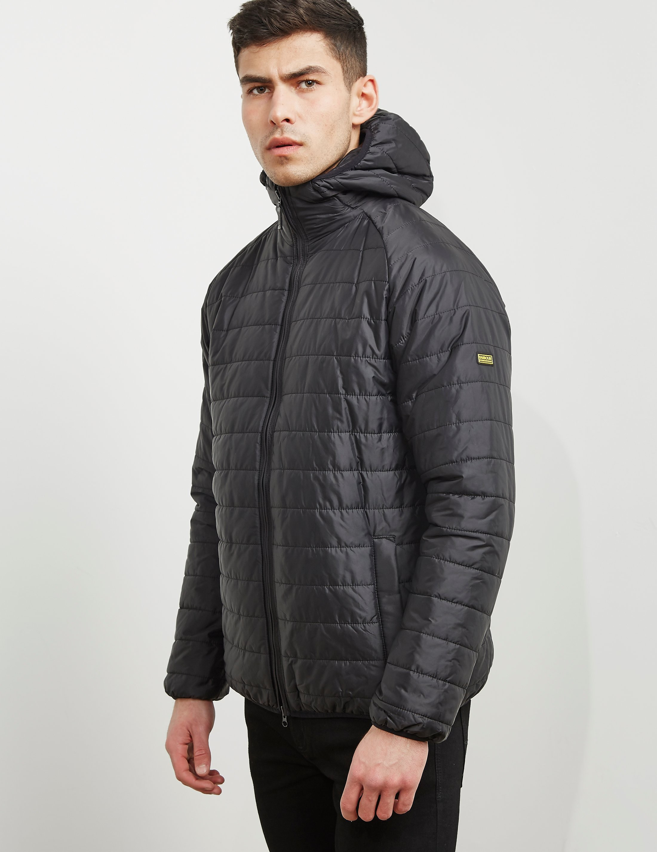 Barbour International Level Quilted Padded Jacket