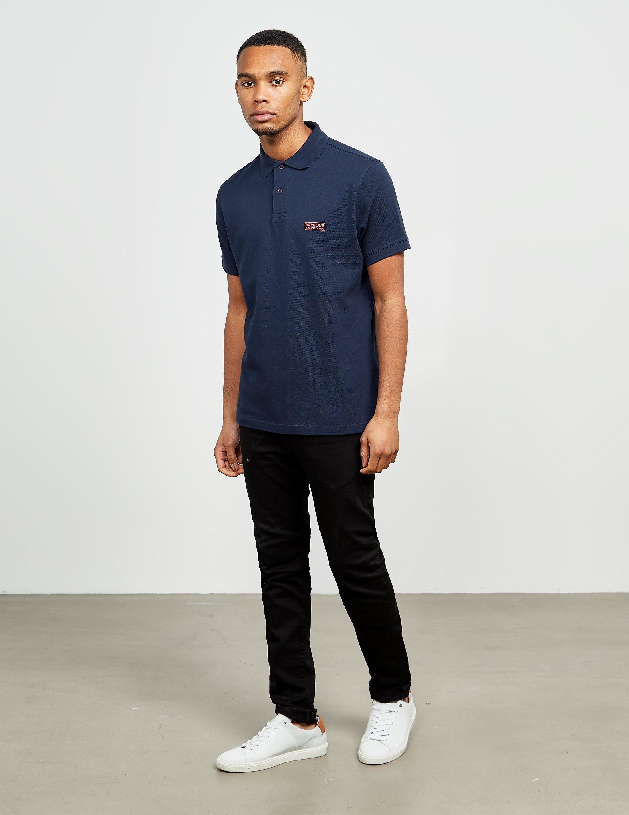 Barbour International Short Sleeve Pique Polo Shirt