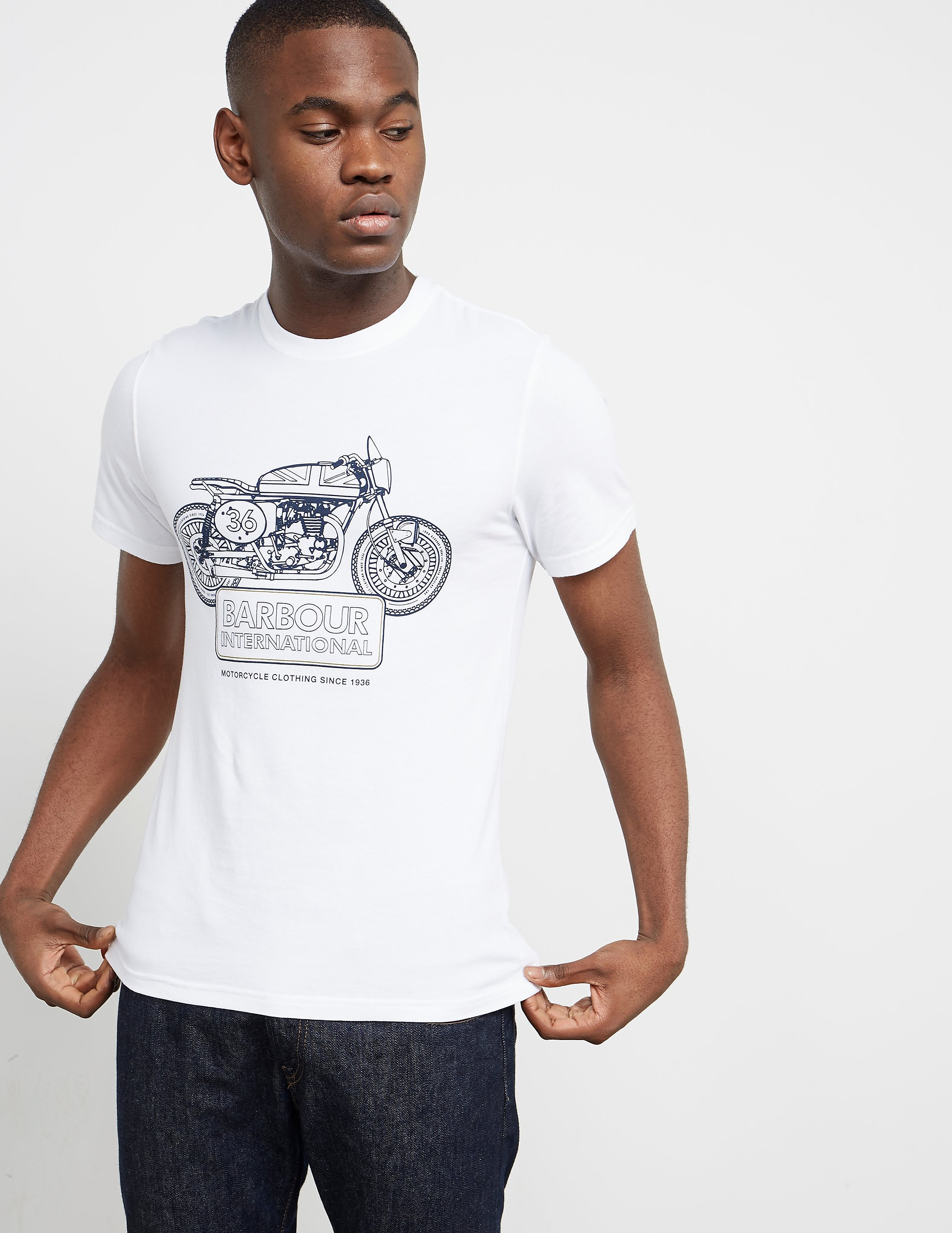 Barbour International Charge Short Sleeve T-Shirt