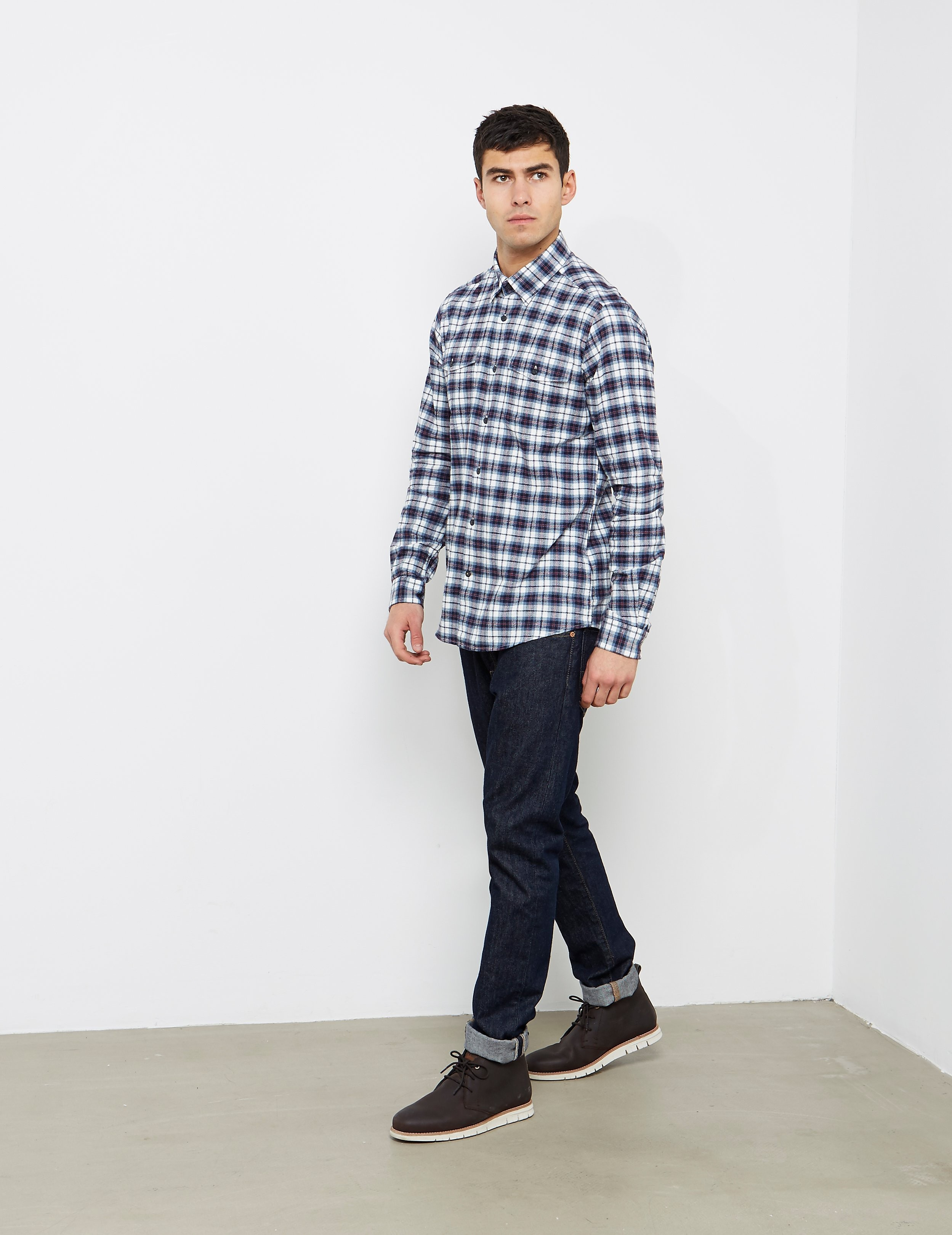 Barbour Whitehall Check Long Sleeve Shirt