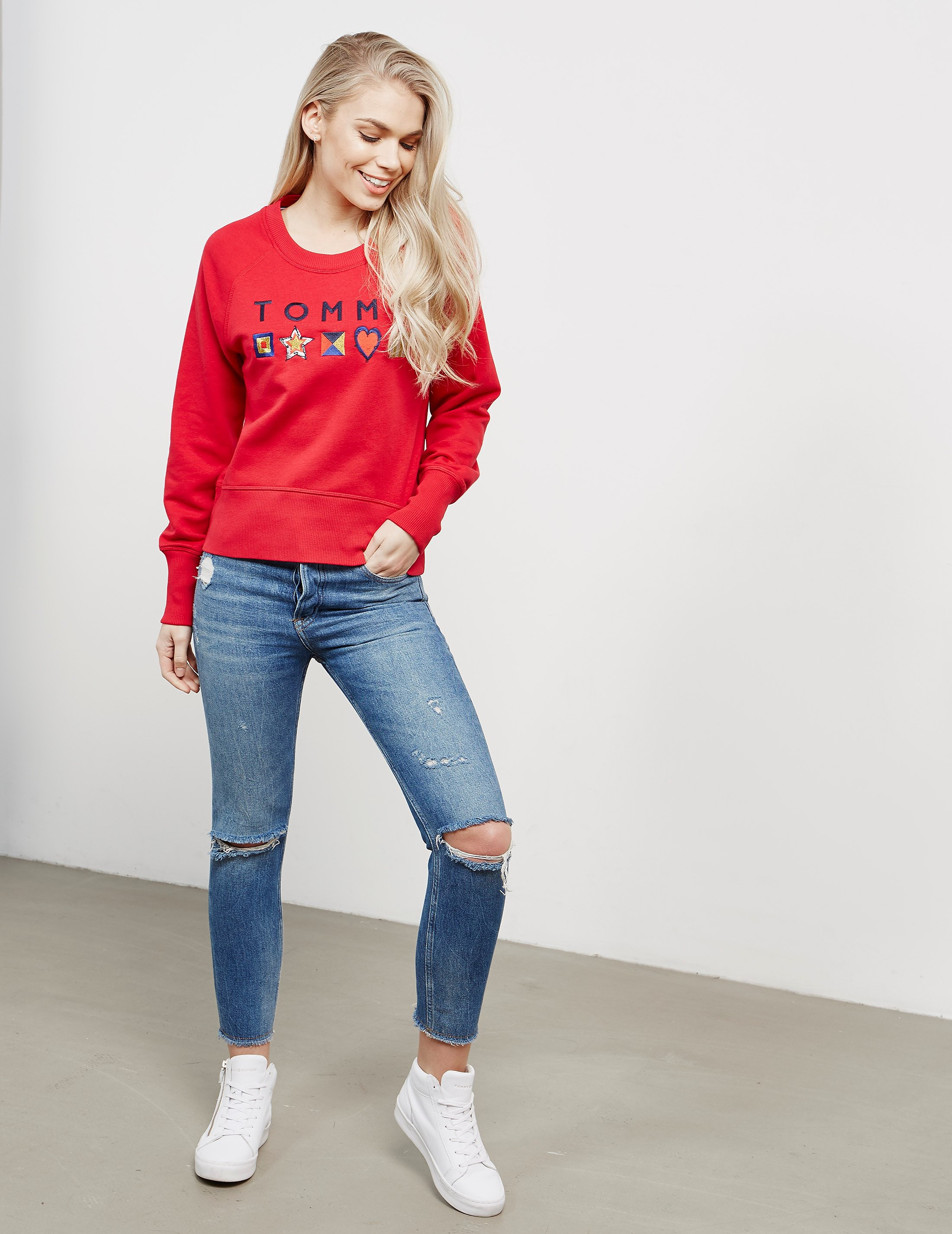 Tommy Hilfiger Clio Embroidered Sweatshirt
