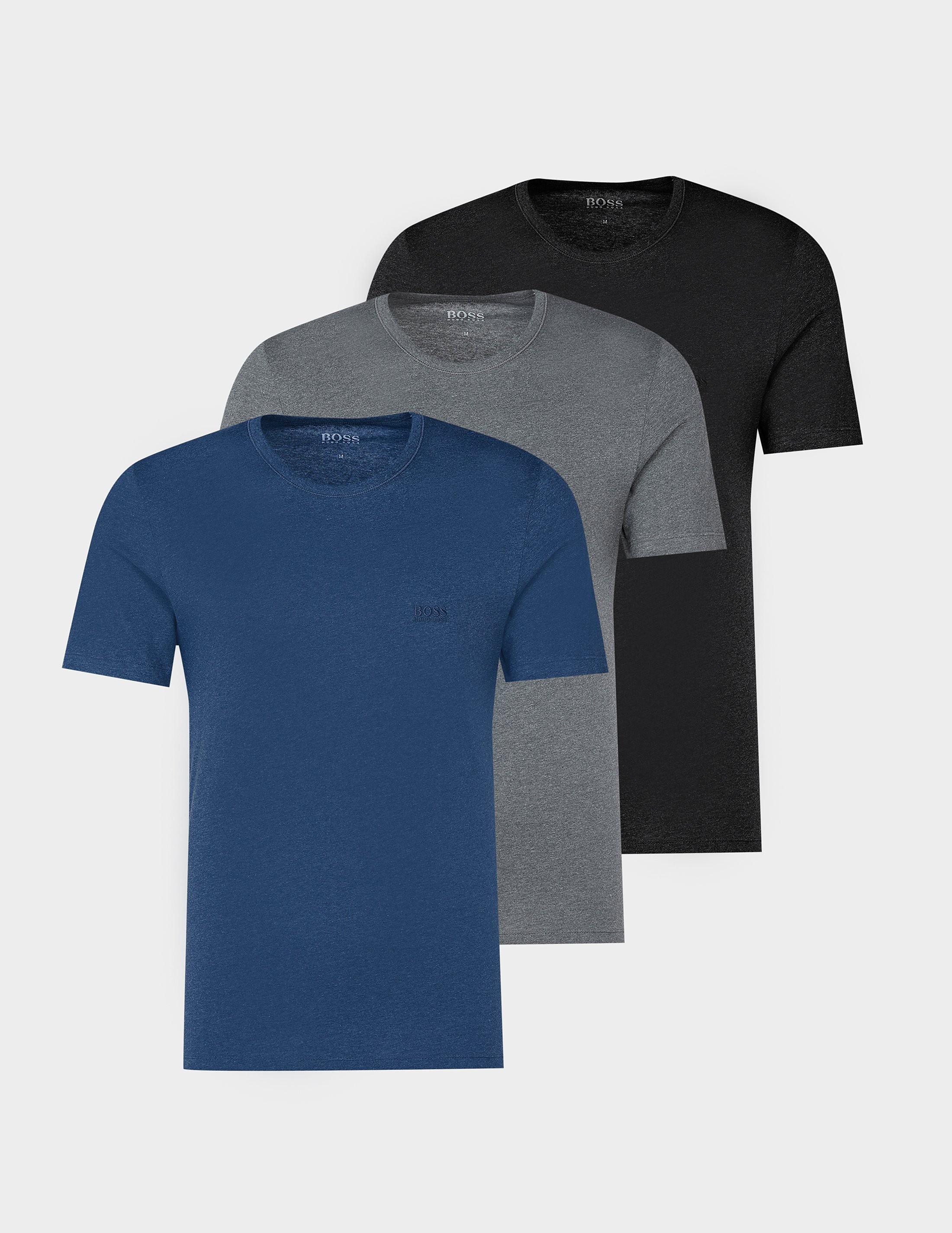 BOSS 3-Pack Short Sleeve Crew T-Shirt