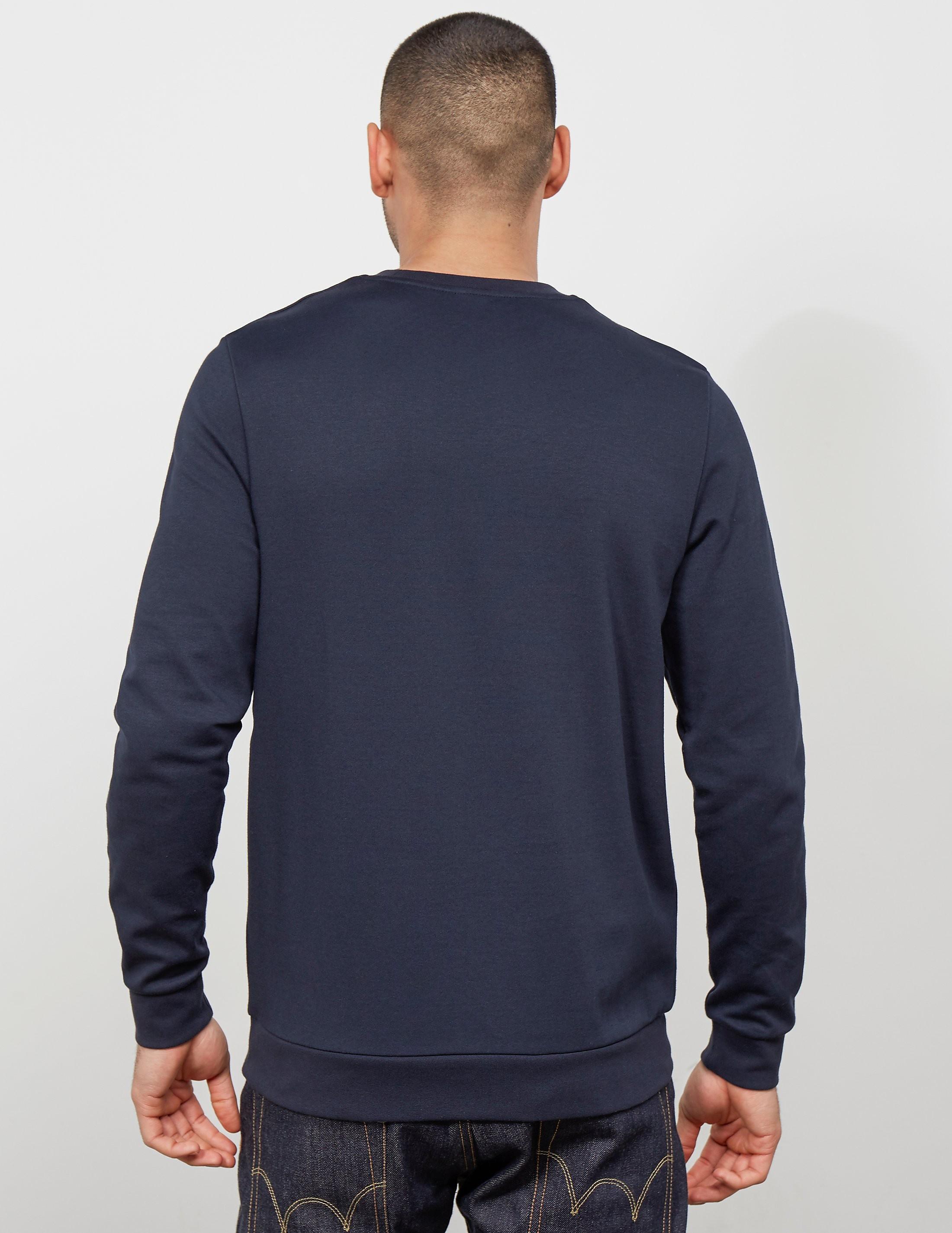 BOSS Poly Pique Crew Sweatshirt