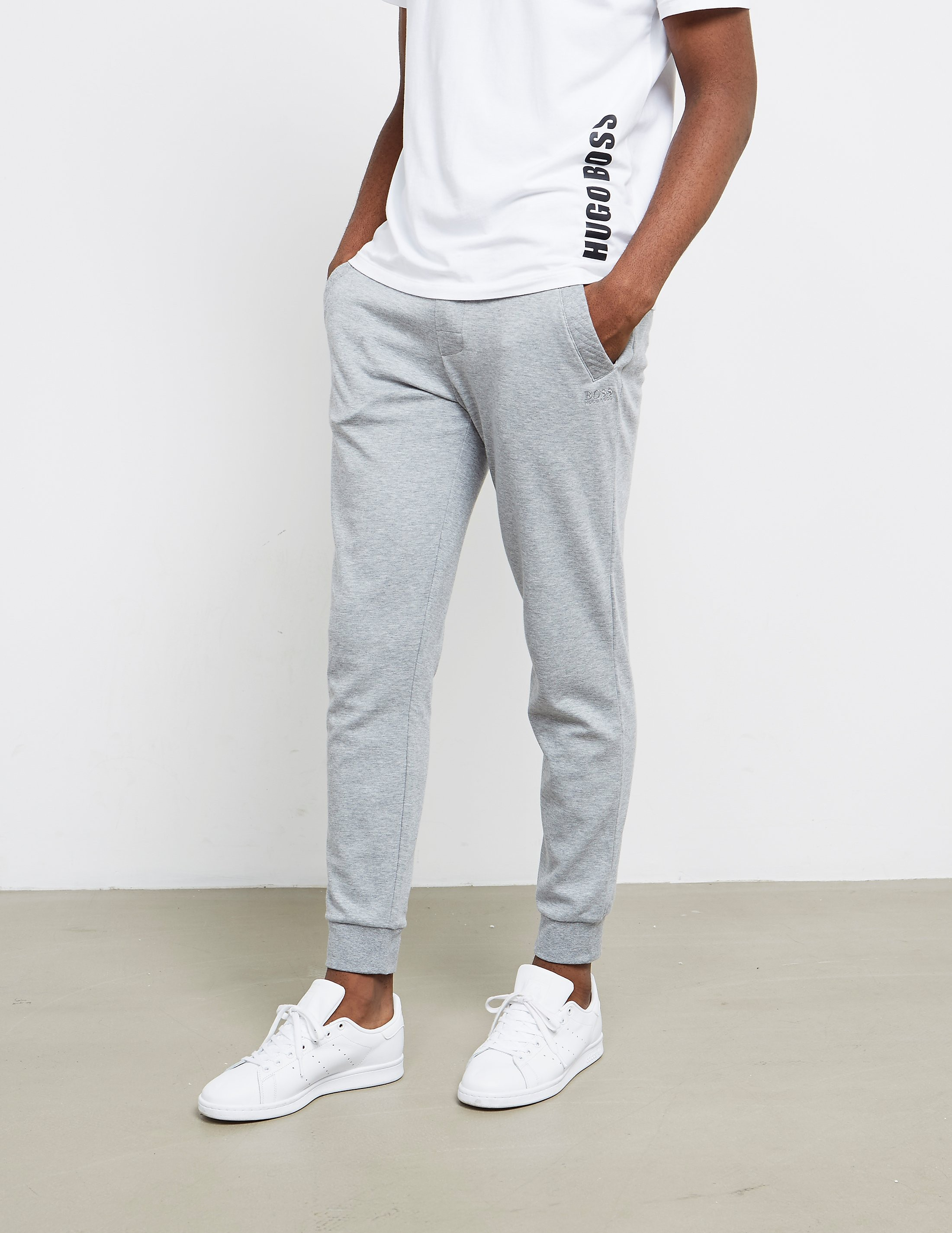 BOSS Quilted Trim Track Pants