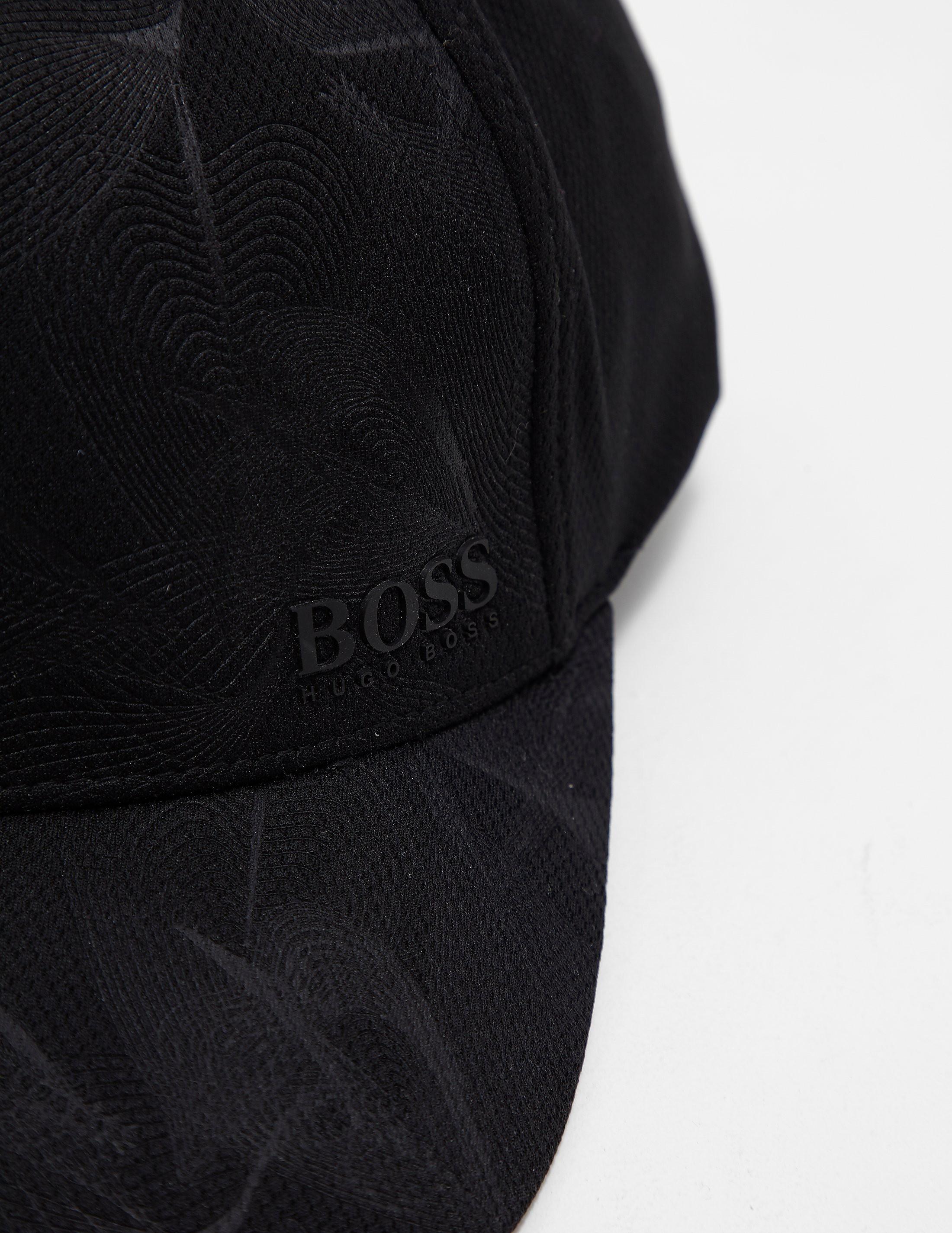 BOSS Green Print Cap