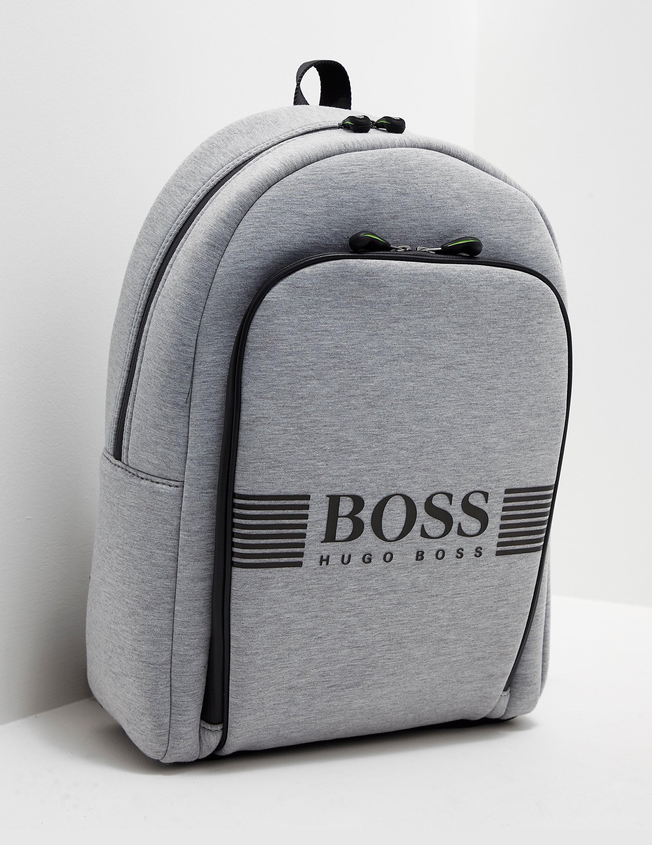 BOSS Green Jersey Backpack