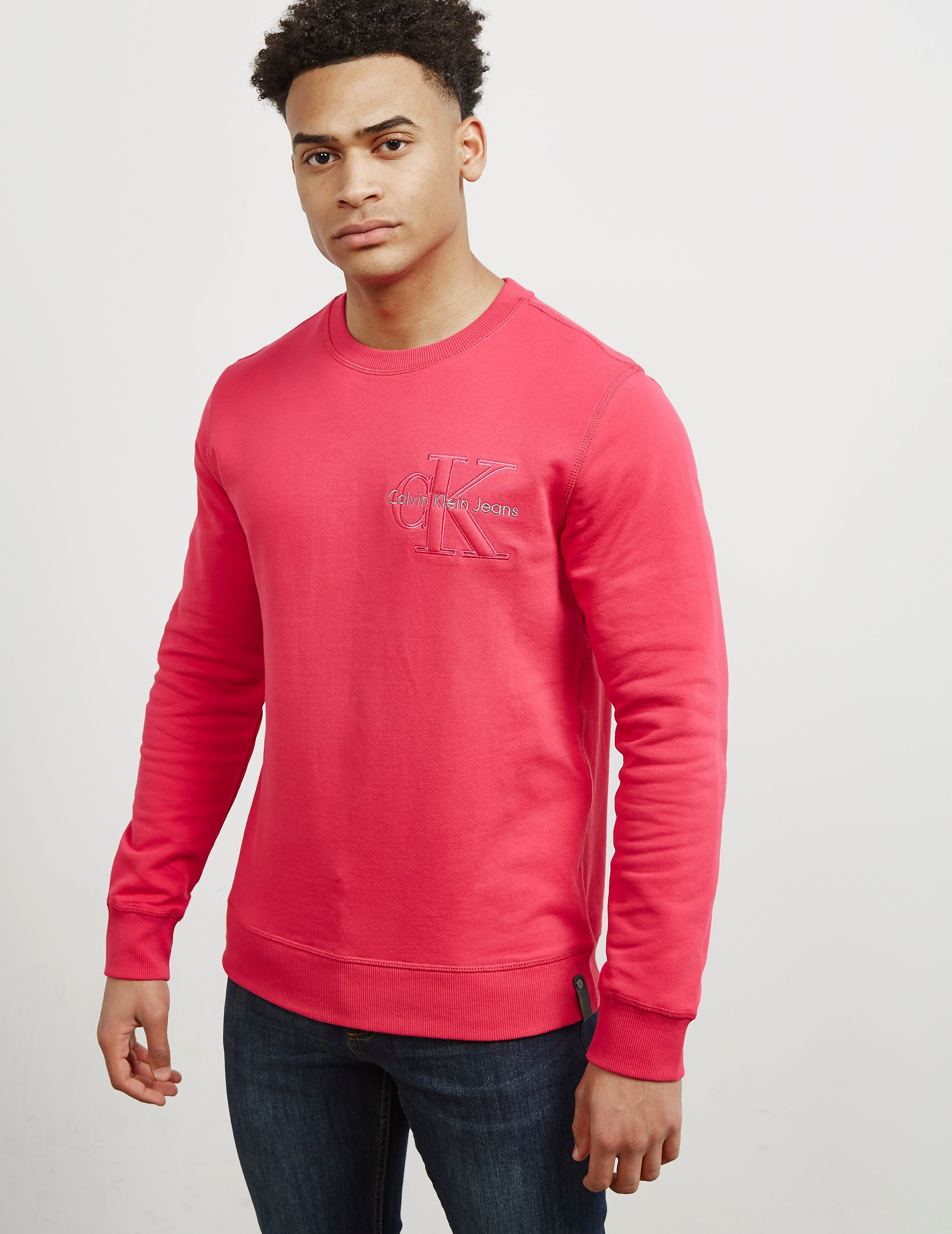 Calvin Klein Embroidered Icon Sweatshirt
