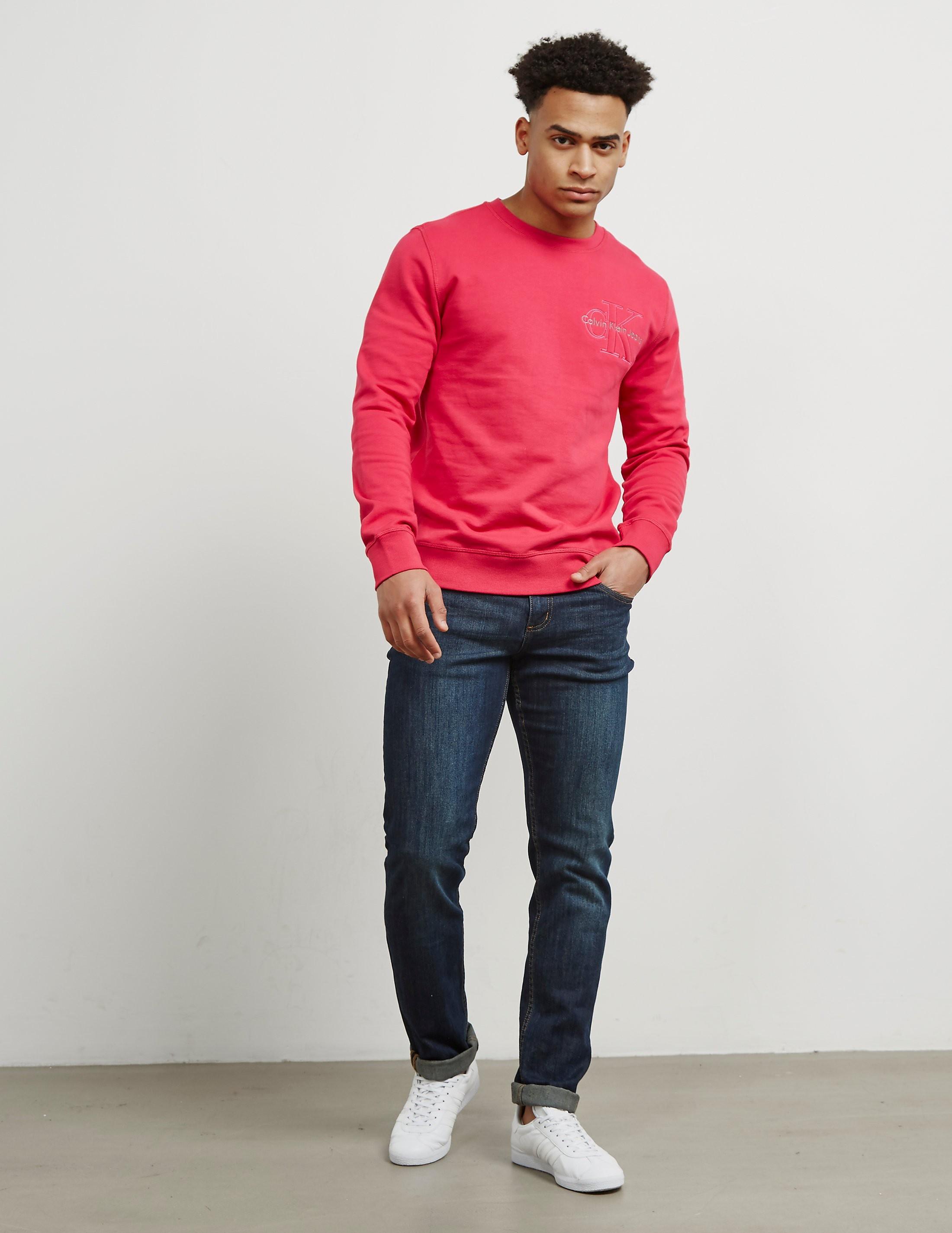Calvin Klein Embroidered Icon Sweatshirt