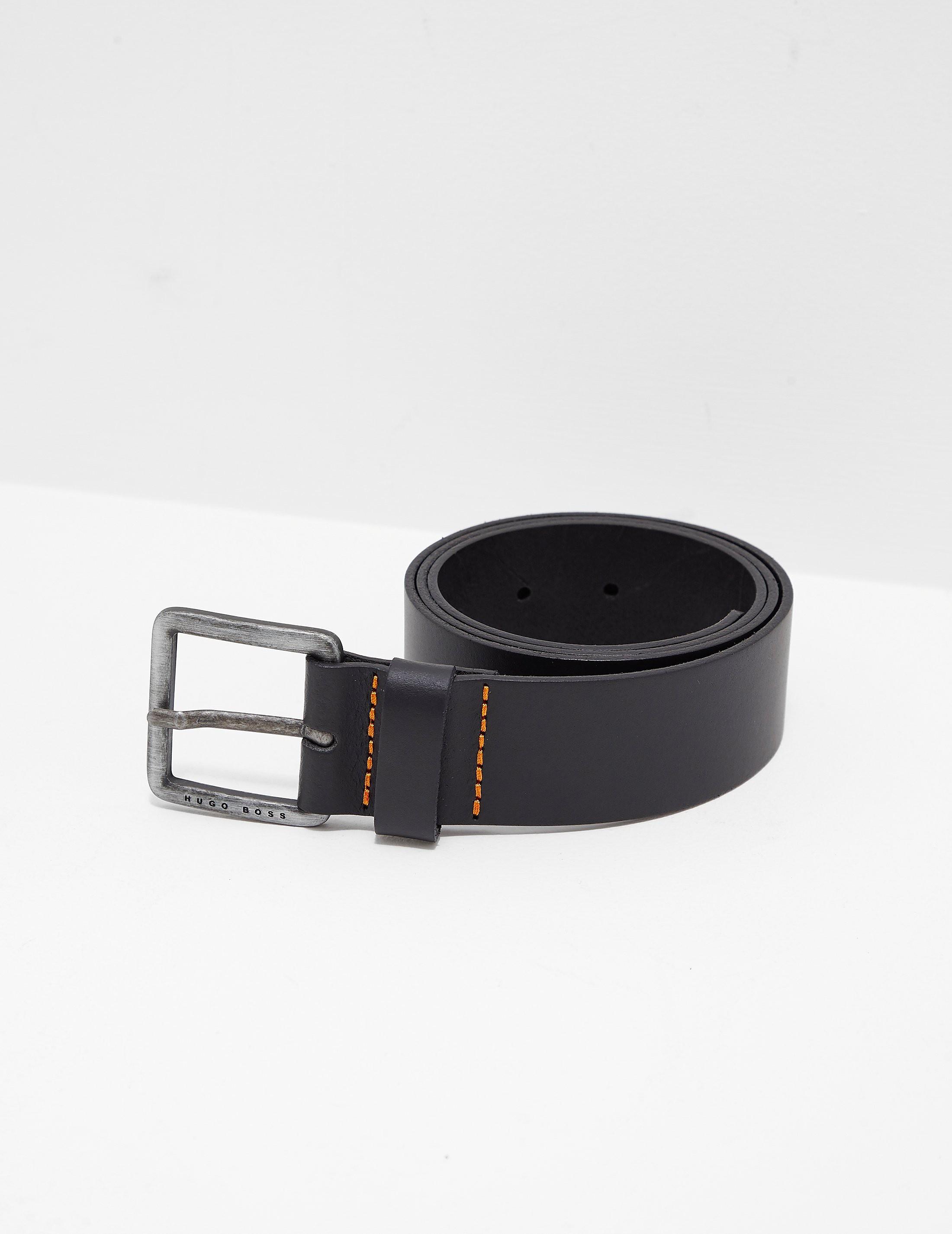 BOSS Jeeko Leather Belt