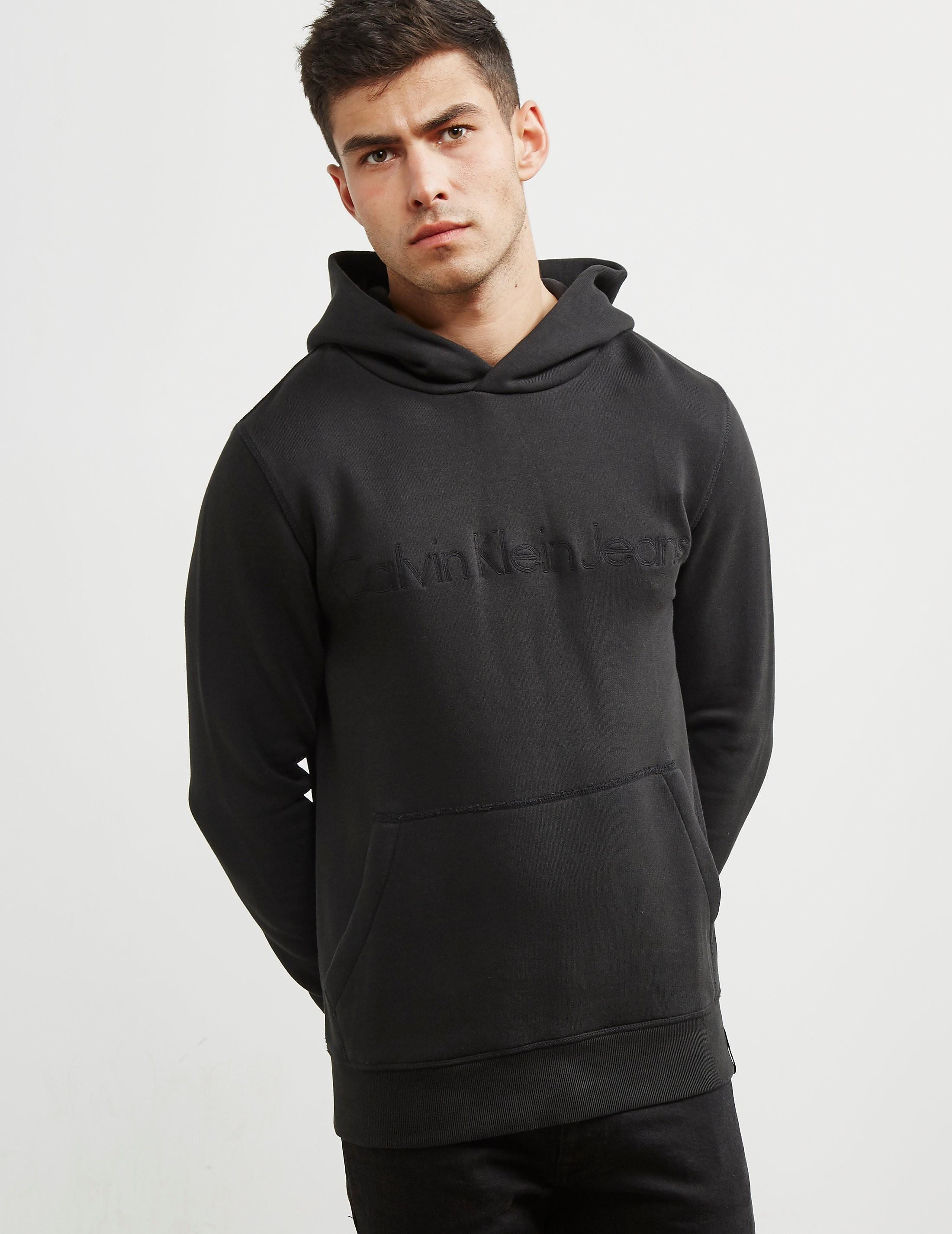 Calvin Klein Logo Overhead Hoody