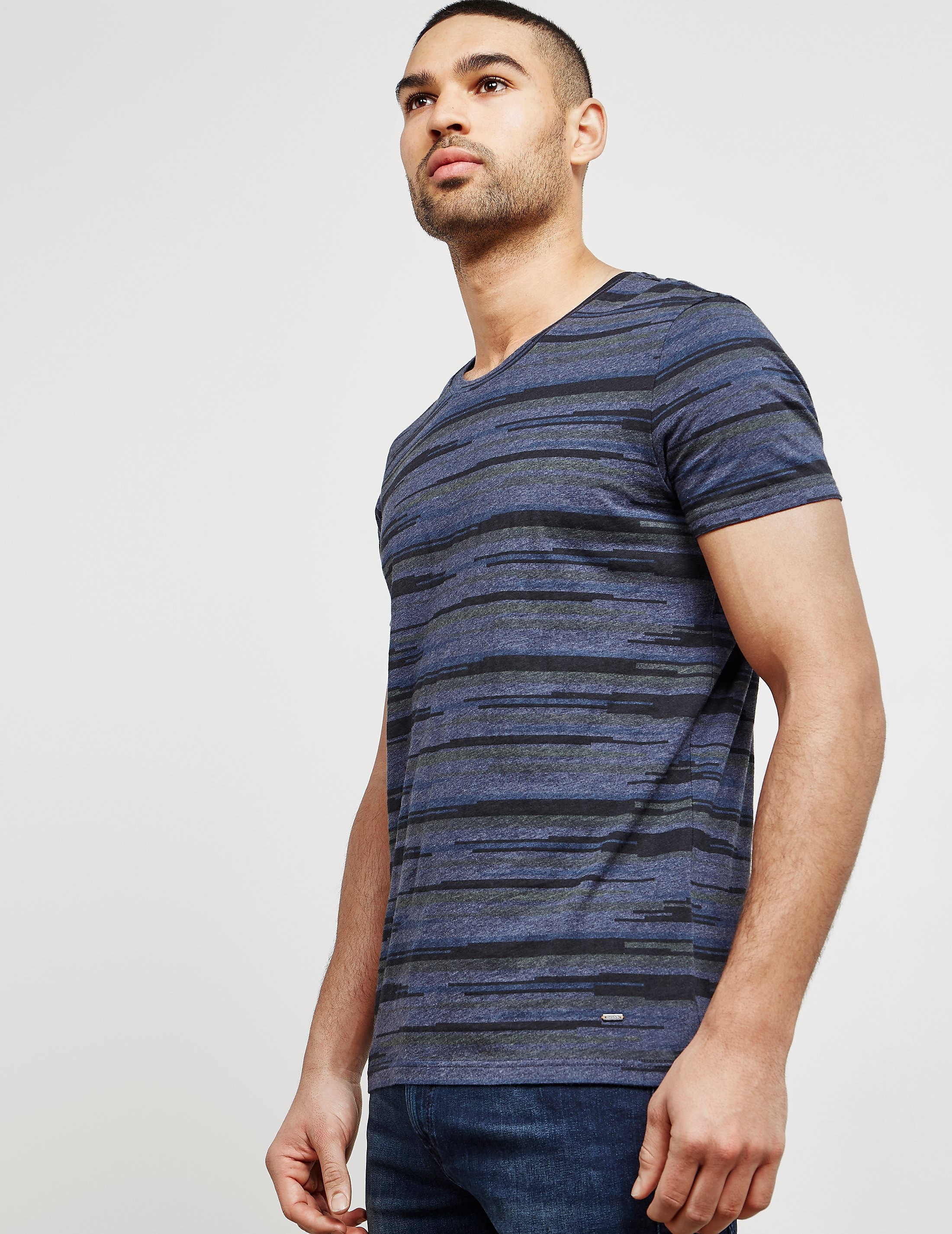 BOSS Orange Tamigo Stripe Short Sleeve T-Shirt