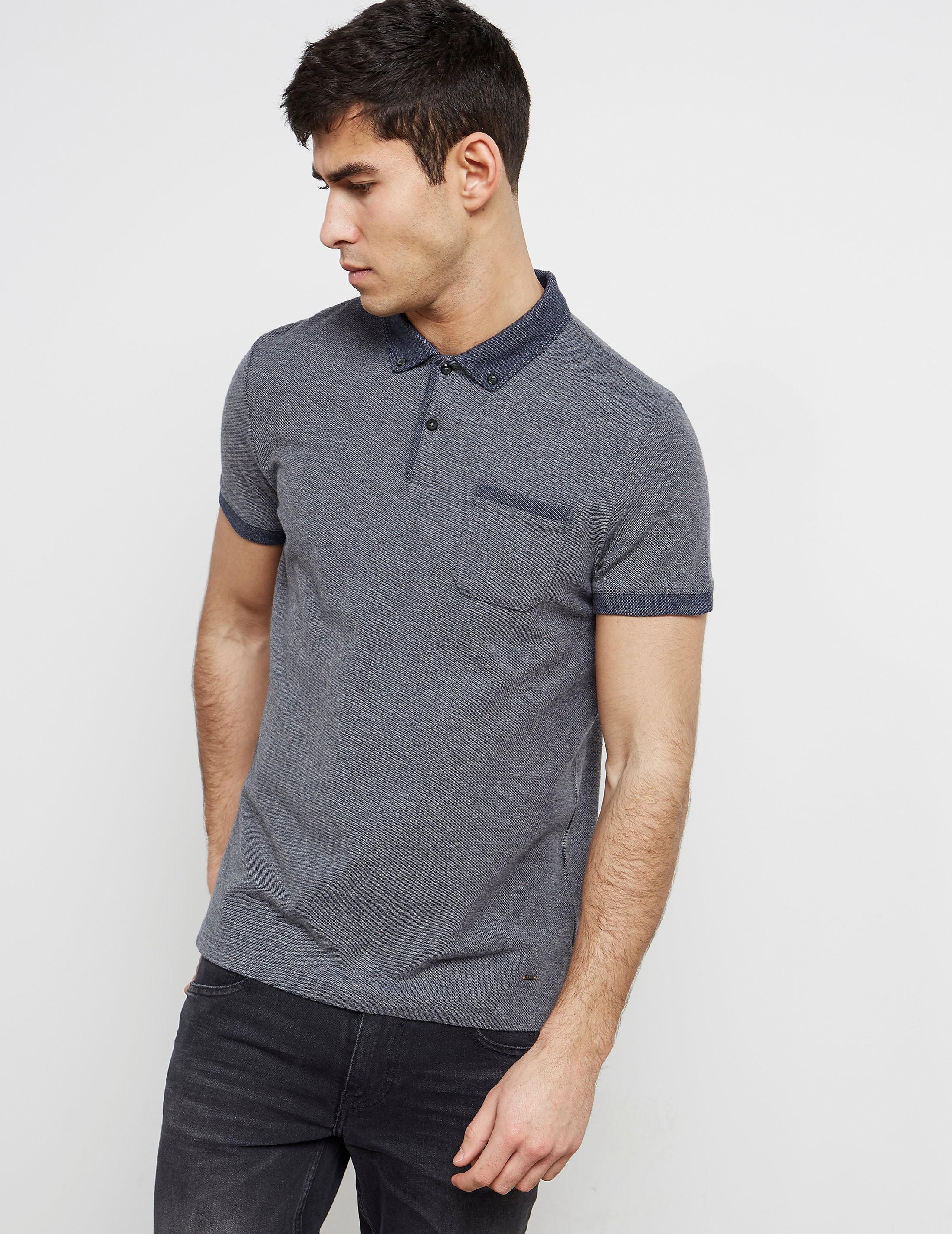 BOSS Short Sleeve Pocket Polo Shirt