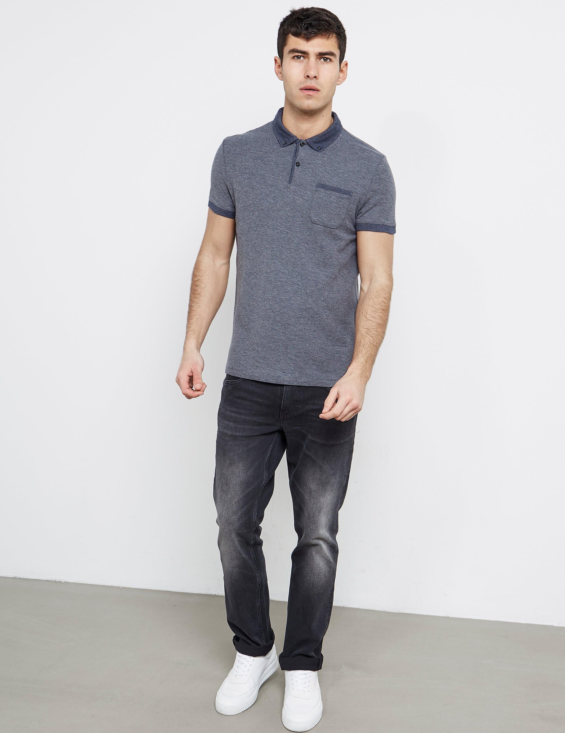BOSS Orange Short Sleeve Pocket Polo Shirt