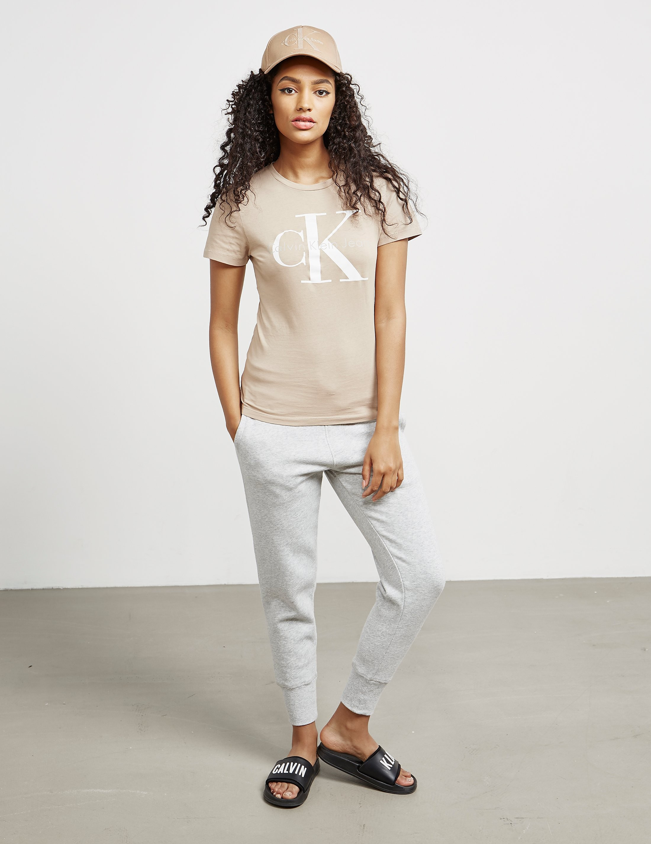 Calvin Klein Short Sleeve Shrunken T-Shirt