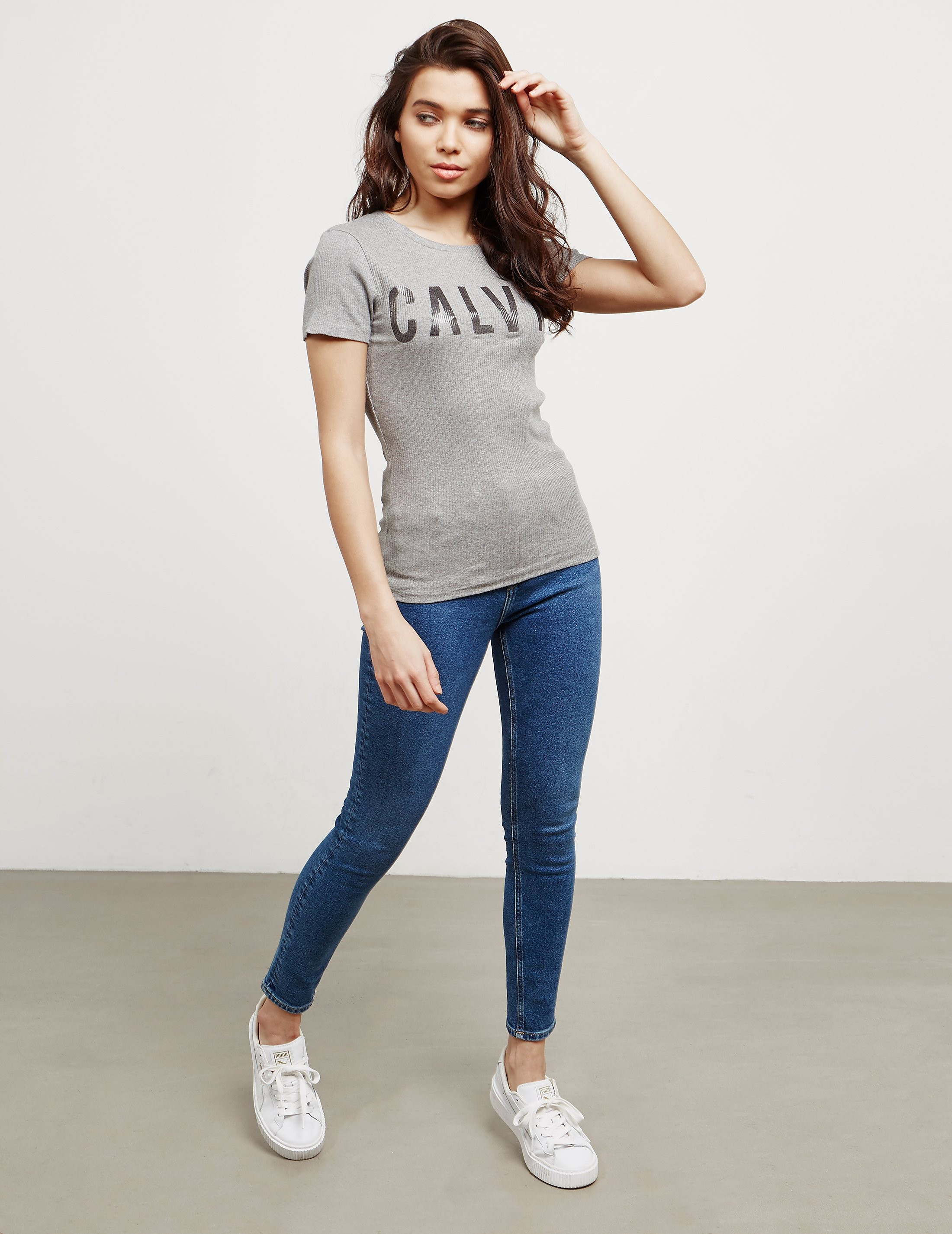 Calvin Klein Tanya-39 Short Sleeve T-Shirt