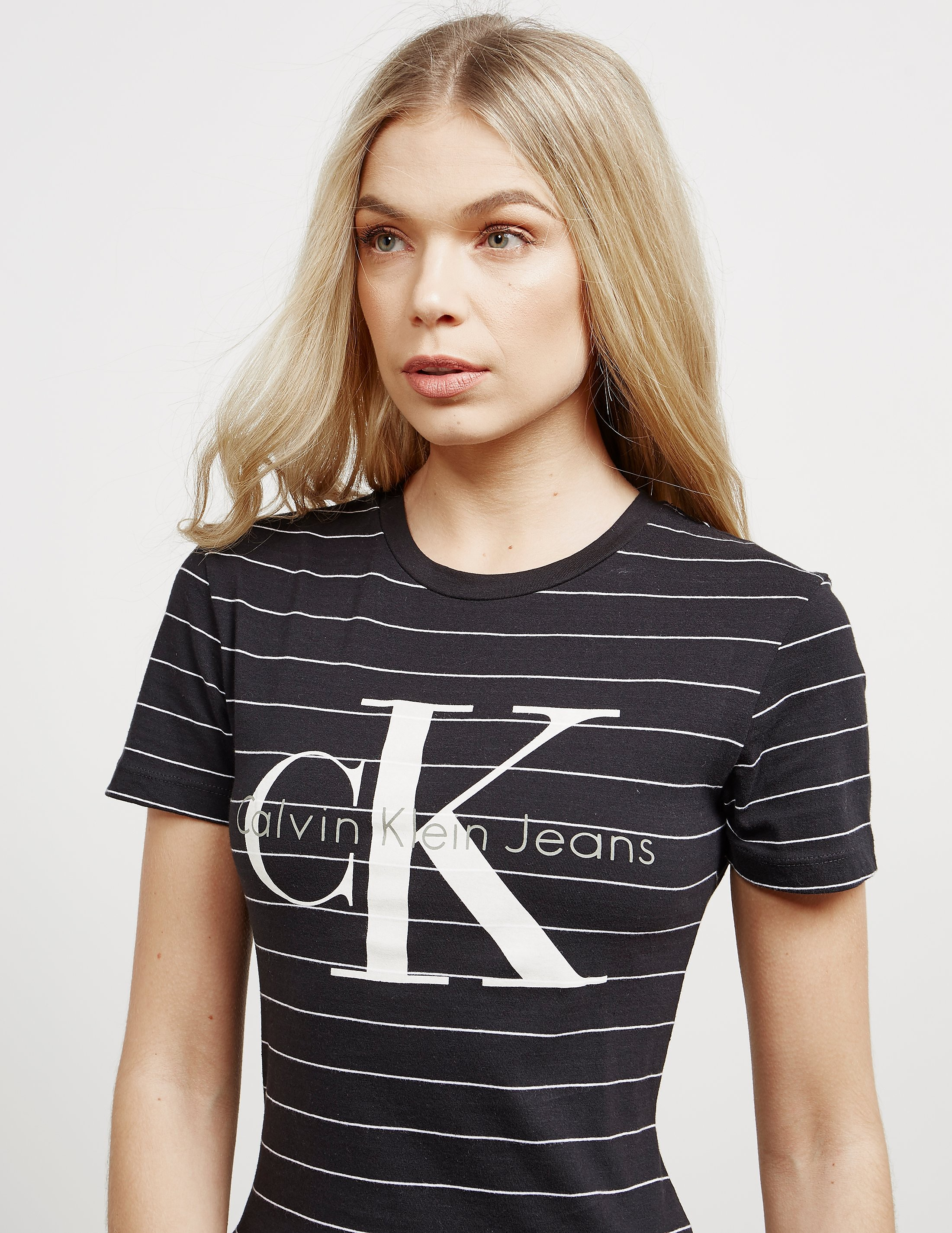Calvin Klein Tanya Stripe Short Sleeve T-Shirt