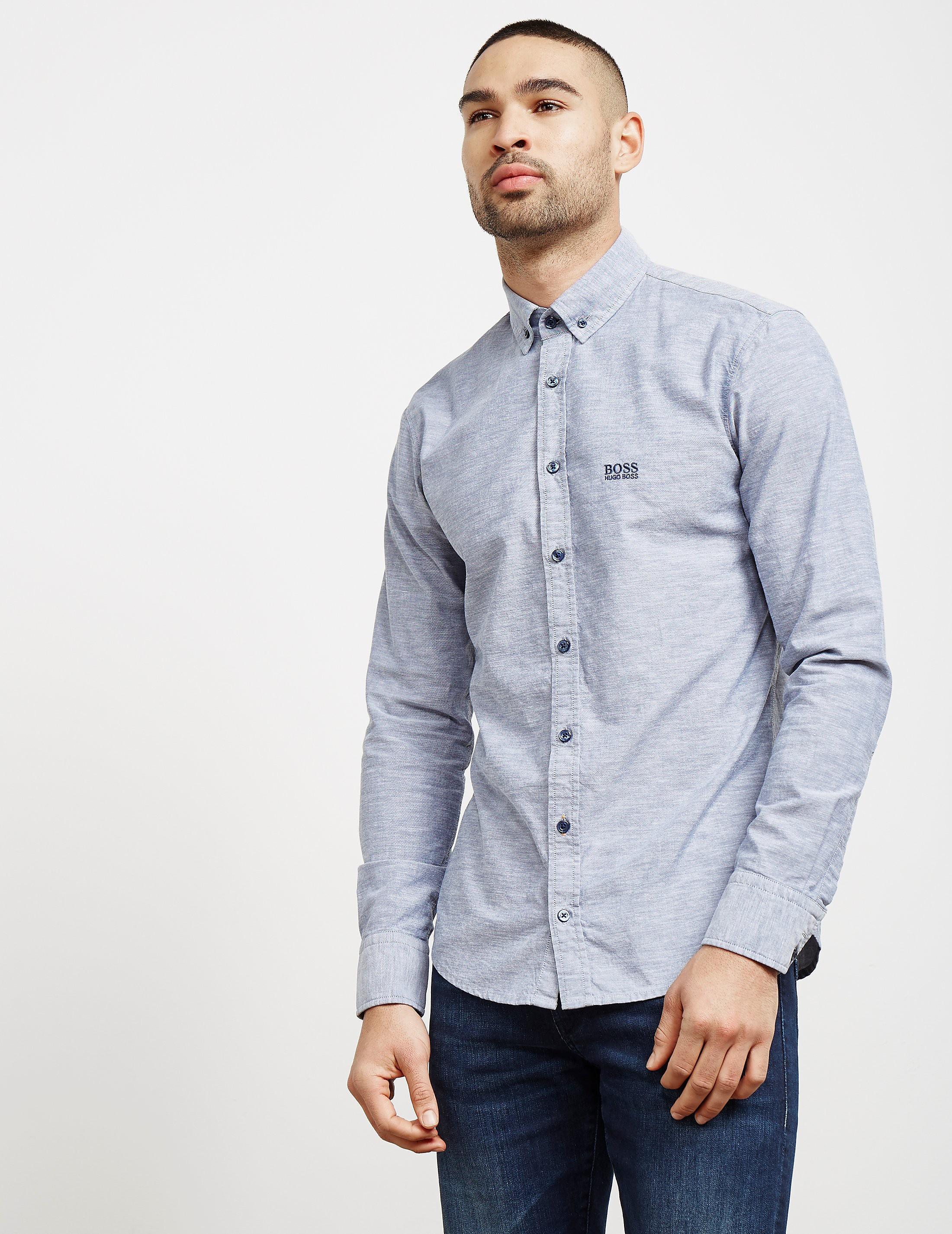 BOSS Preppy Oxford Long Sleeve Shirt
