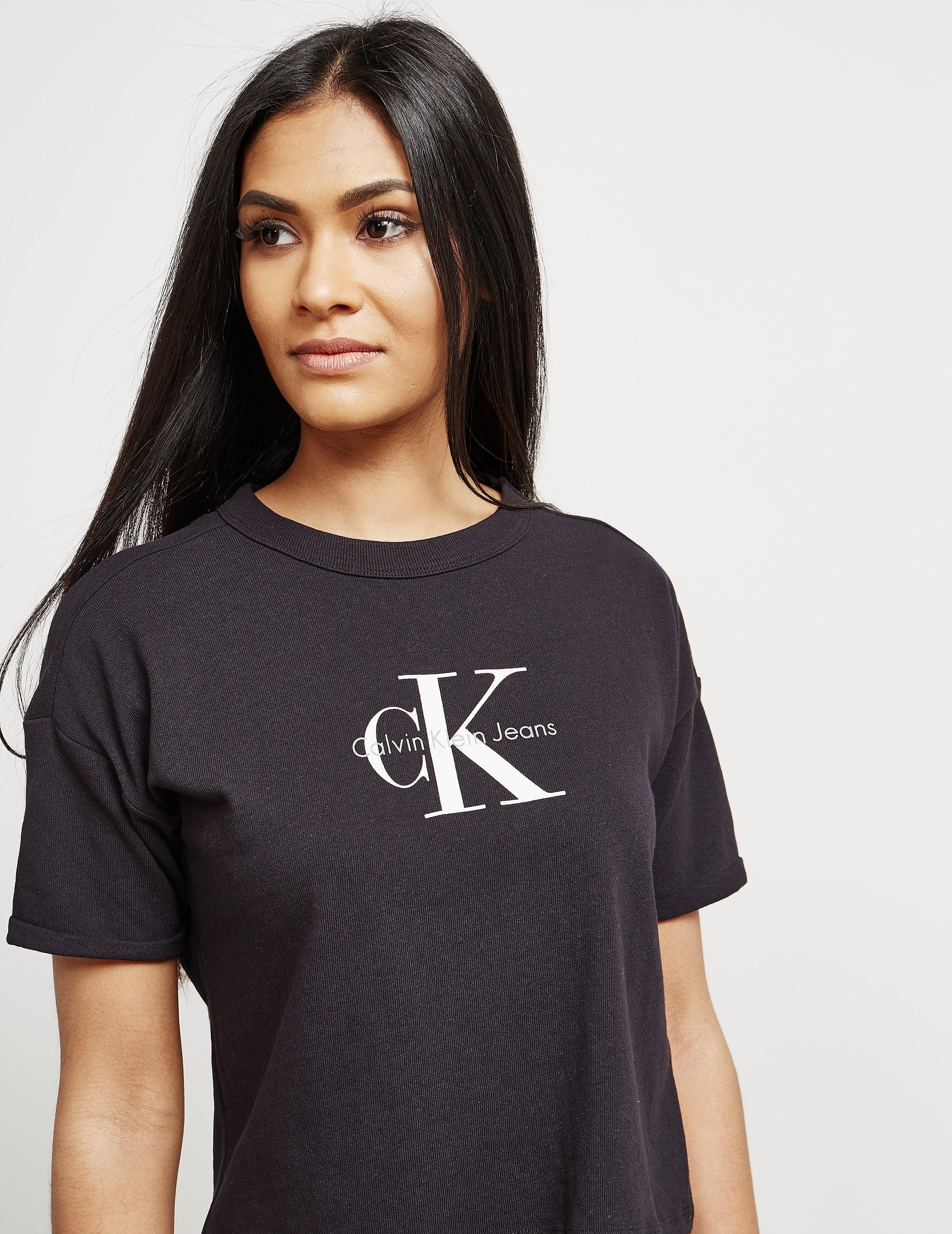 Calvin Klein Teco Short Sleeve Crop T-Shirt