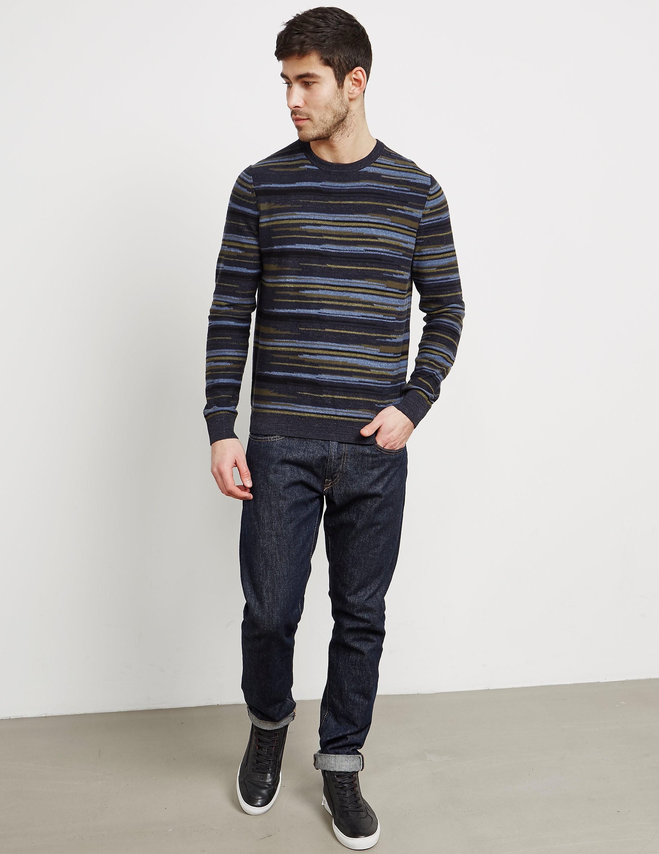 BOSS Krallgo Stripe Knitted Jumper