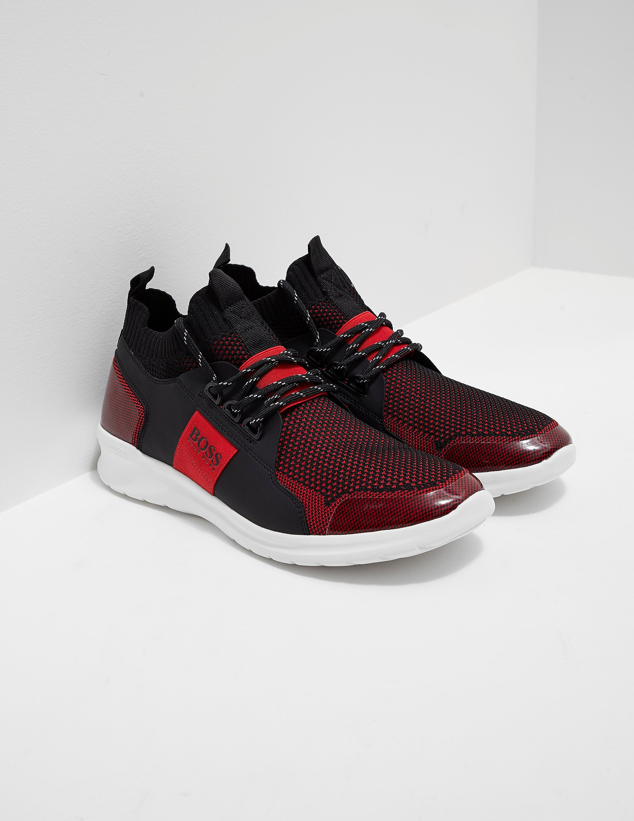 BOSS Green Extreme Run Knit Trainers