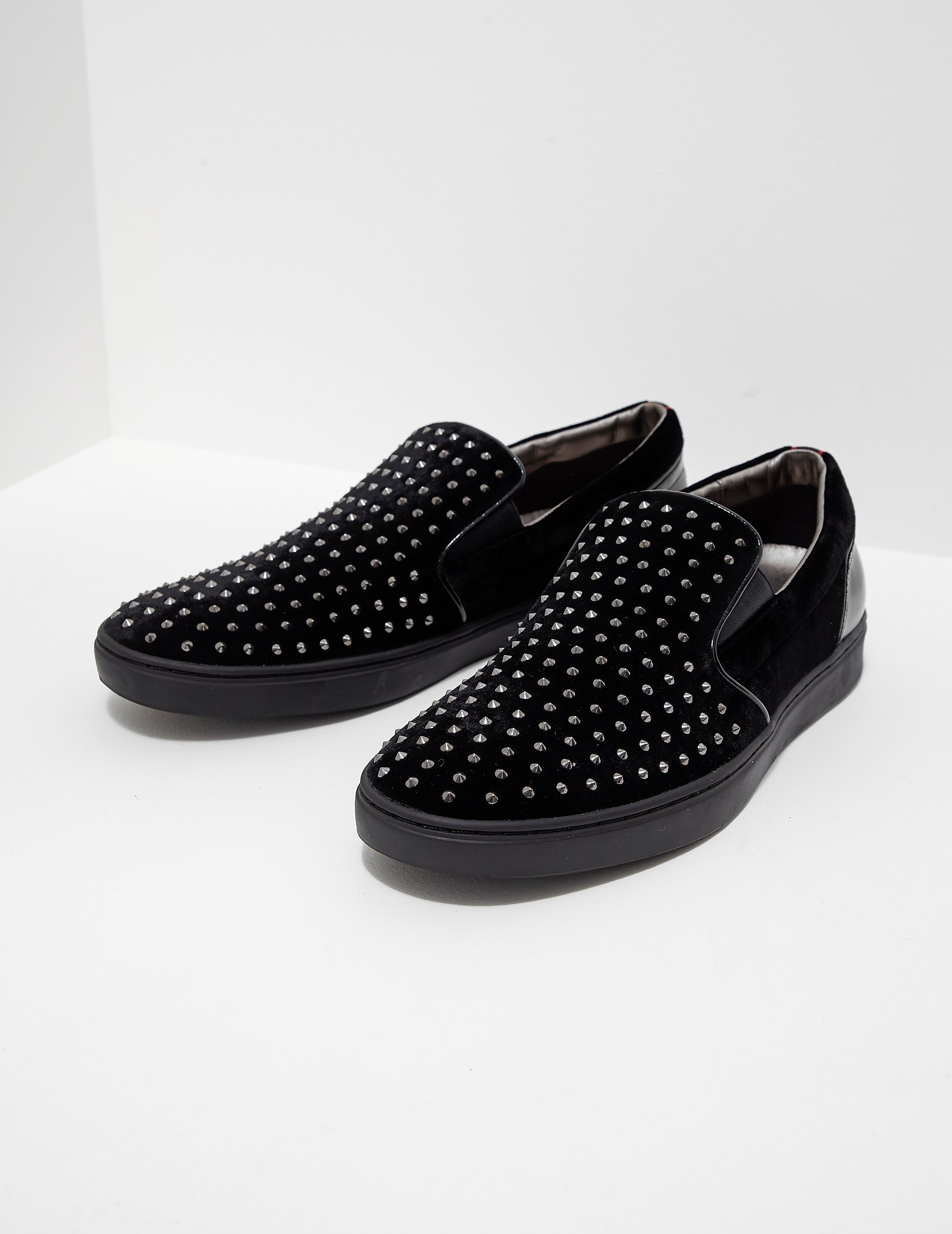 HUGO Post Slip-On Velvet Shoe