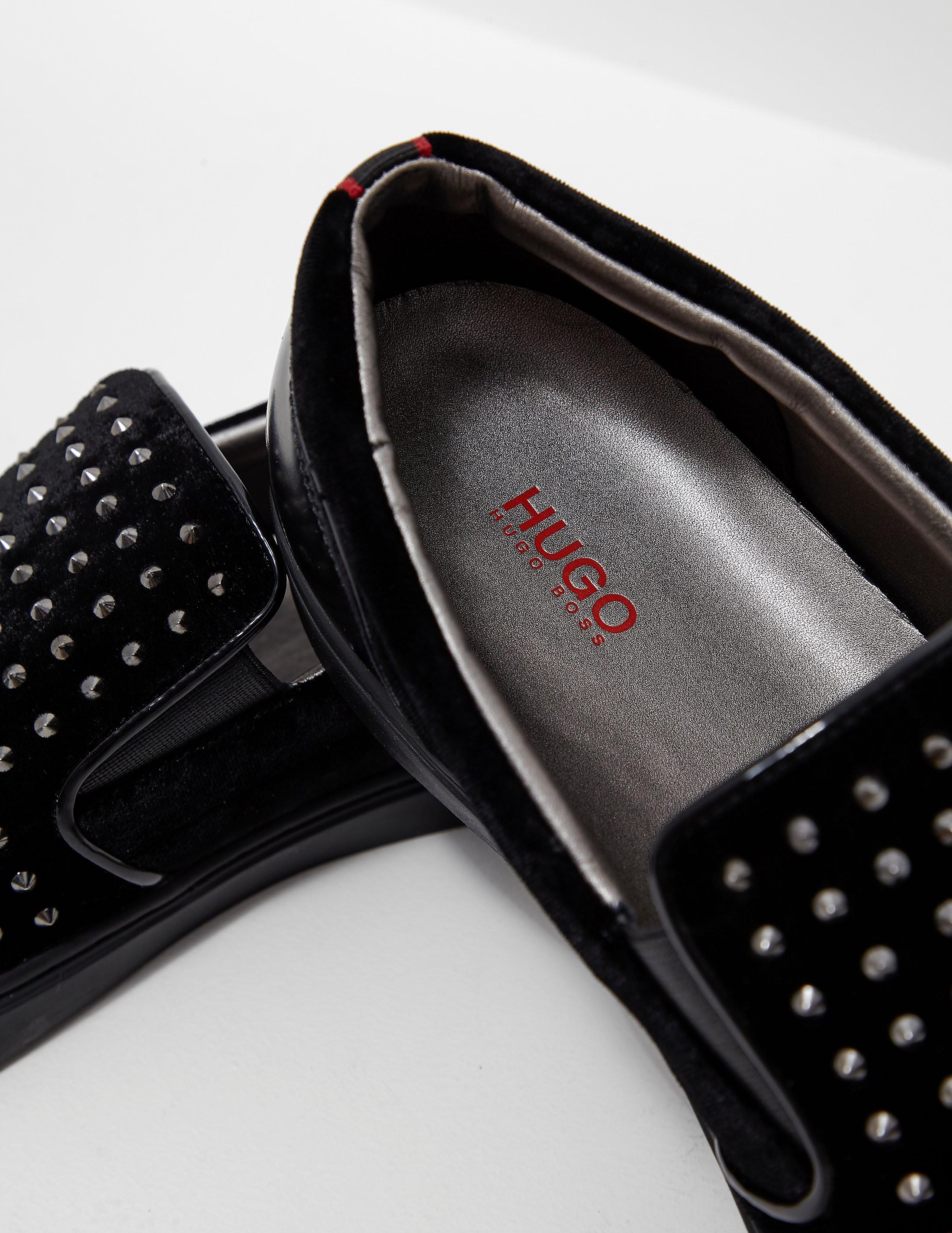 HUGO Post Slip-On Velvet Shoe