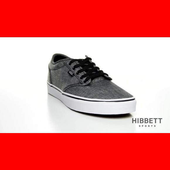 vans atwood low black and white