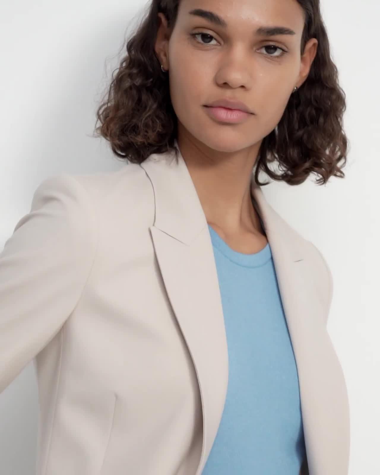 Etiennette Blazer in Good Wool