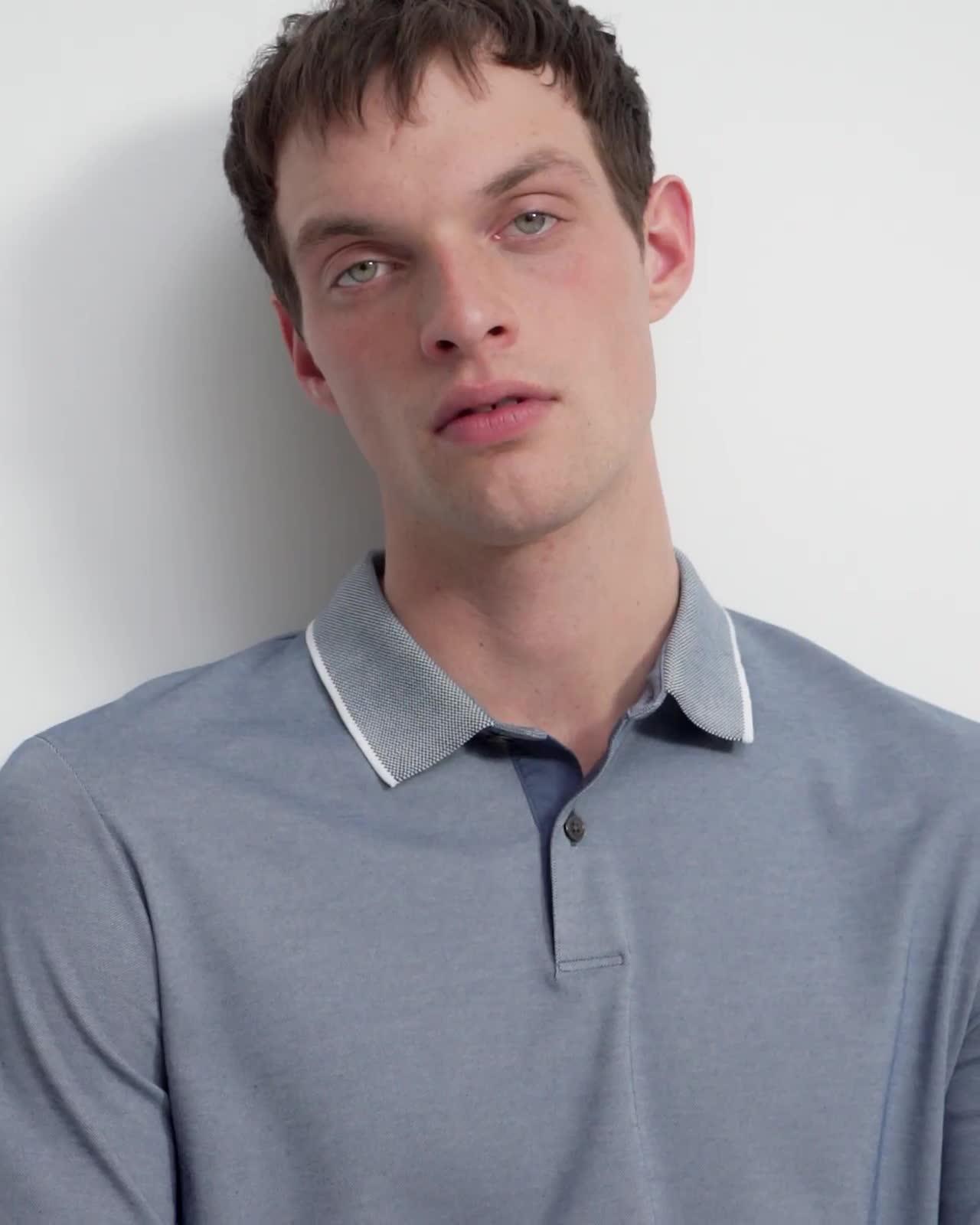 Standard Polo Shirt in Piqué Cotton