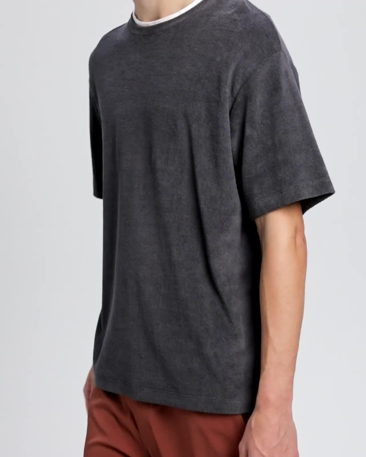 Cotton Terry Structure Tee