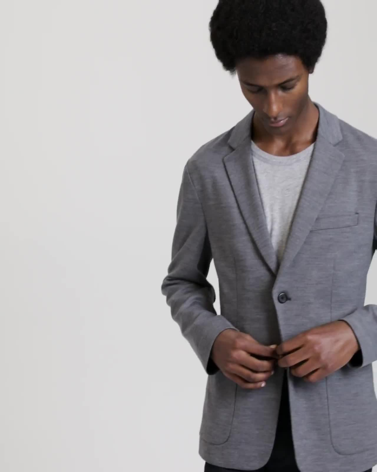 Wool Interlock Clinton Jacket