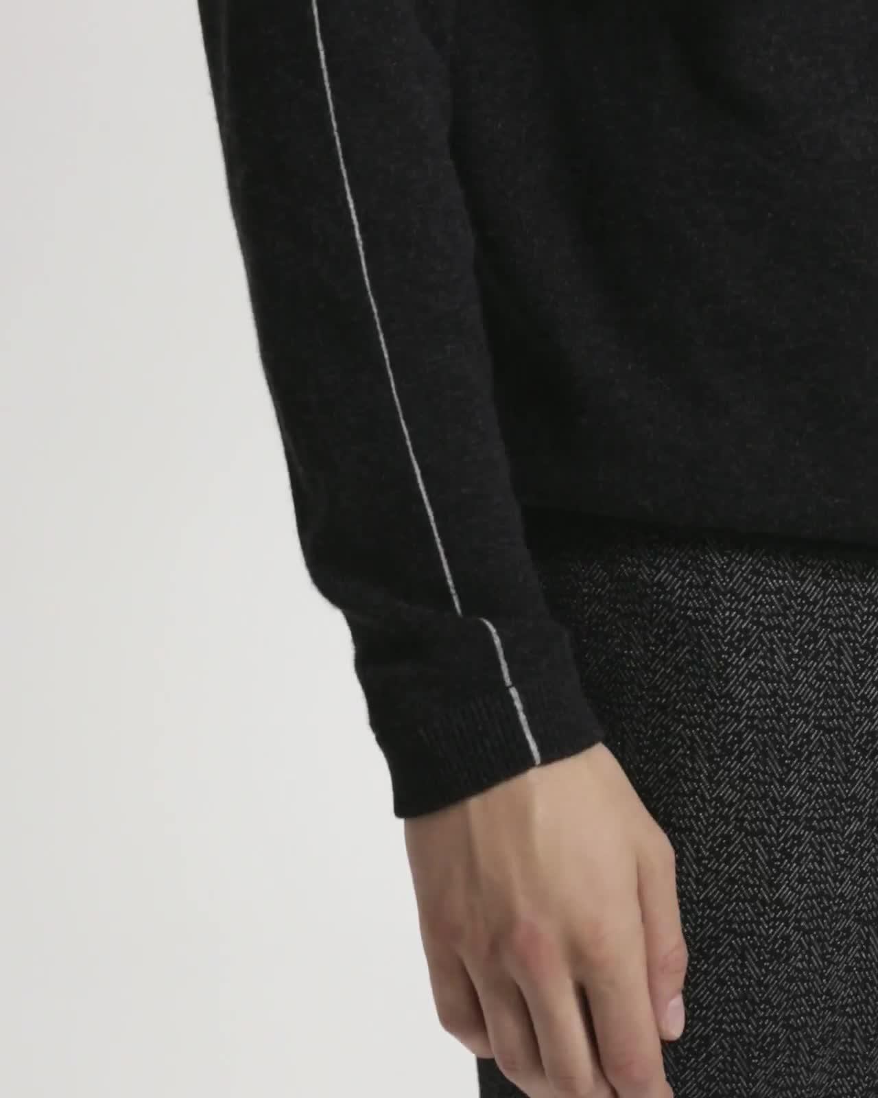 Fine Line Raglan Sweater
