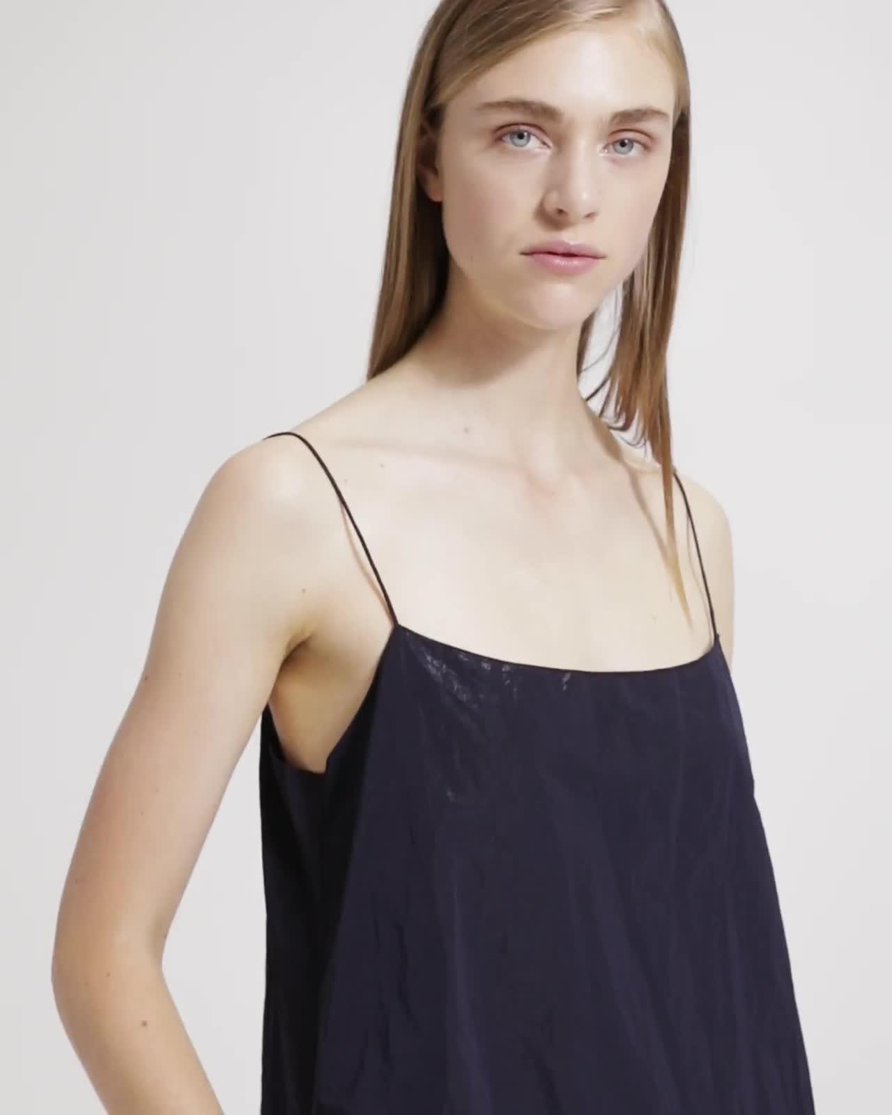 A-Line Slip Maxi Dress