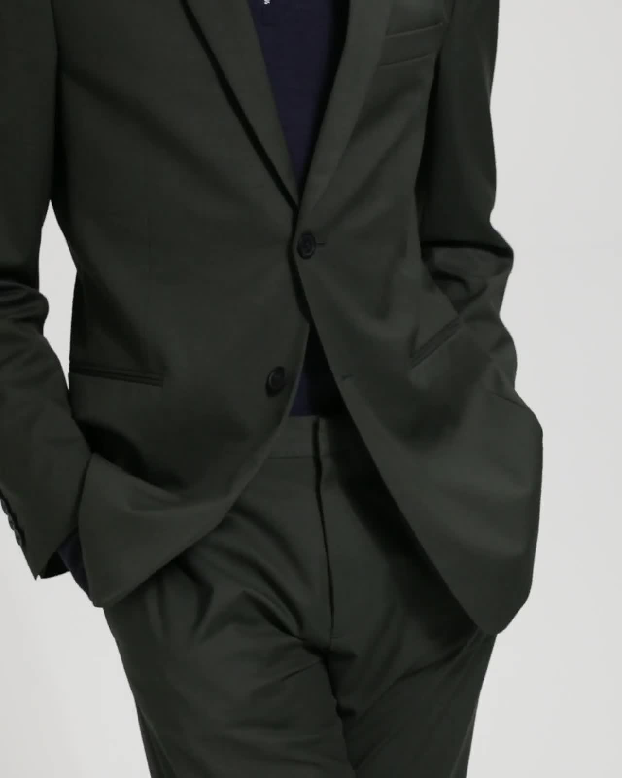 Sartorial Cotton Wool Gansevoort Jacket