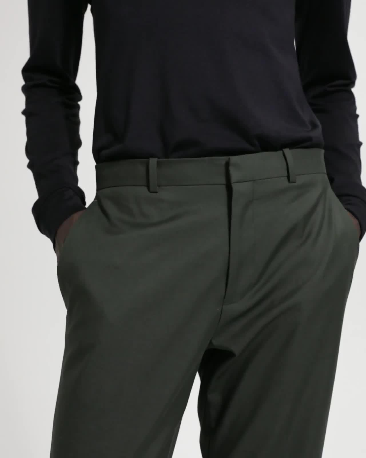 Sartorial Cotton Wool Mayer Pant