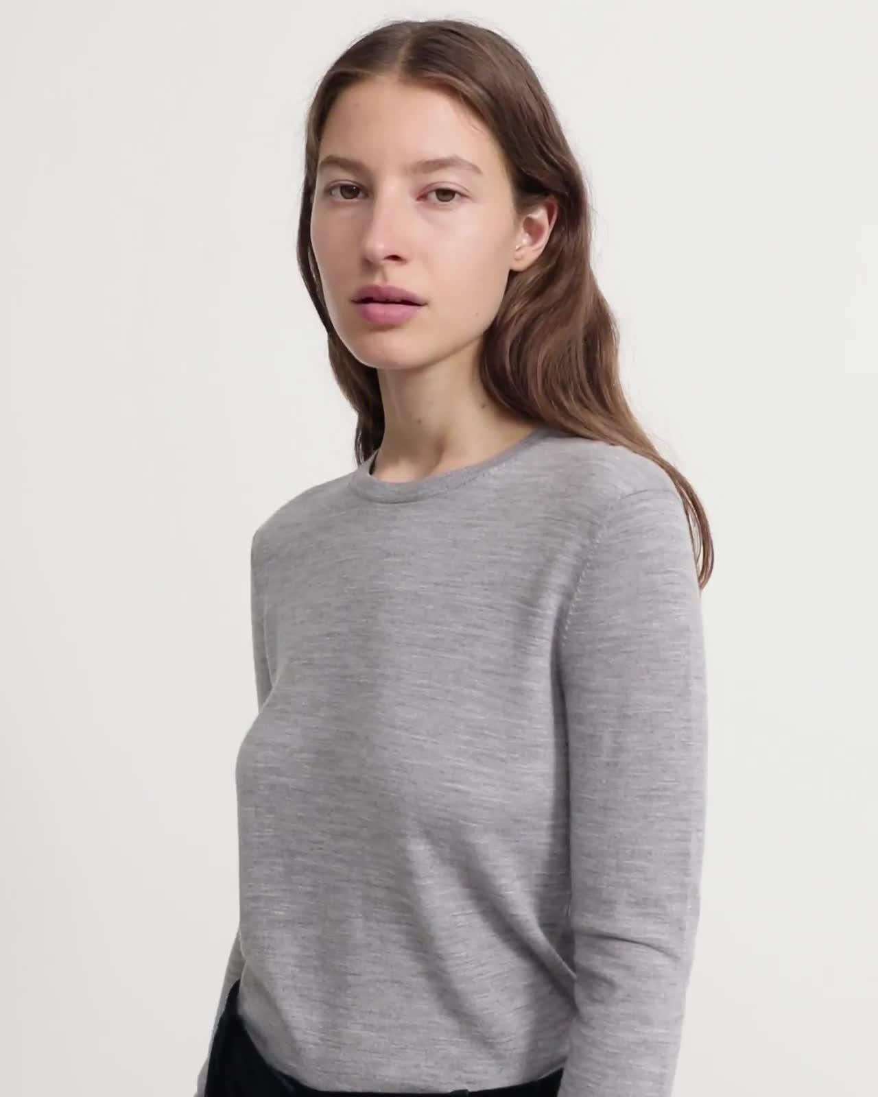 Regal Wool Crewneck